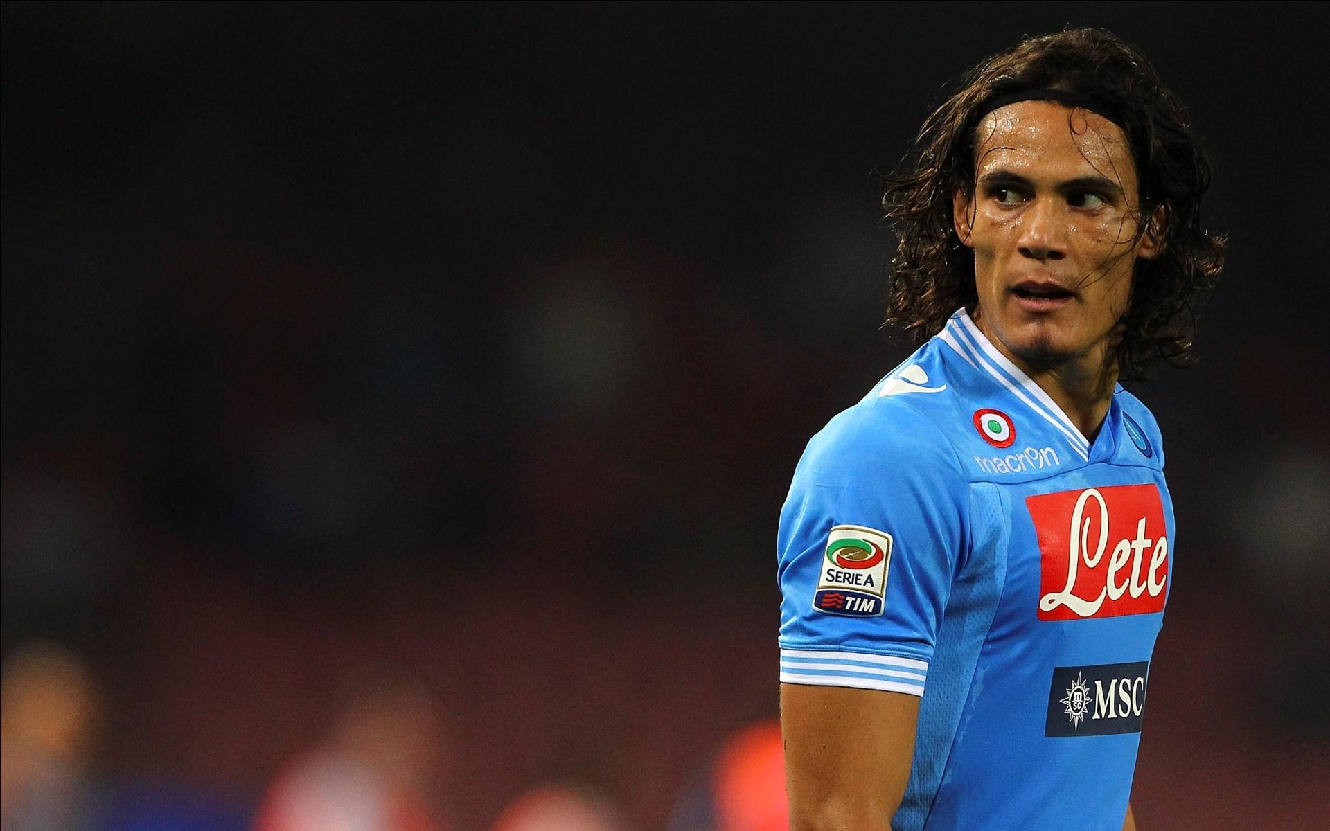 Fondos De Pantalla Edinson Cavani Napoli Jugador De