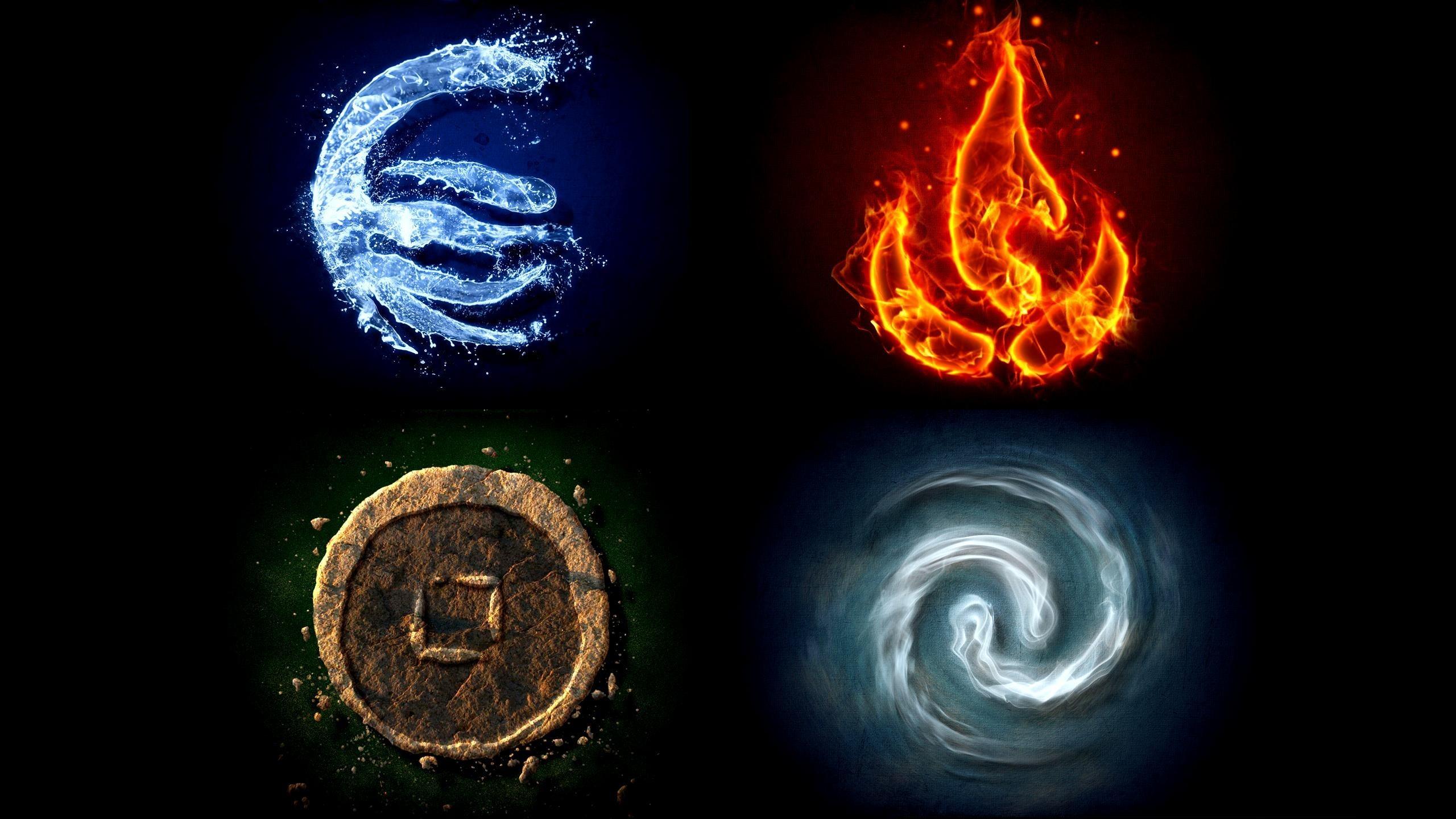Все стихии и их знаки картинки