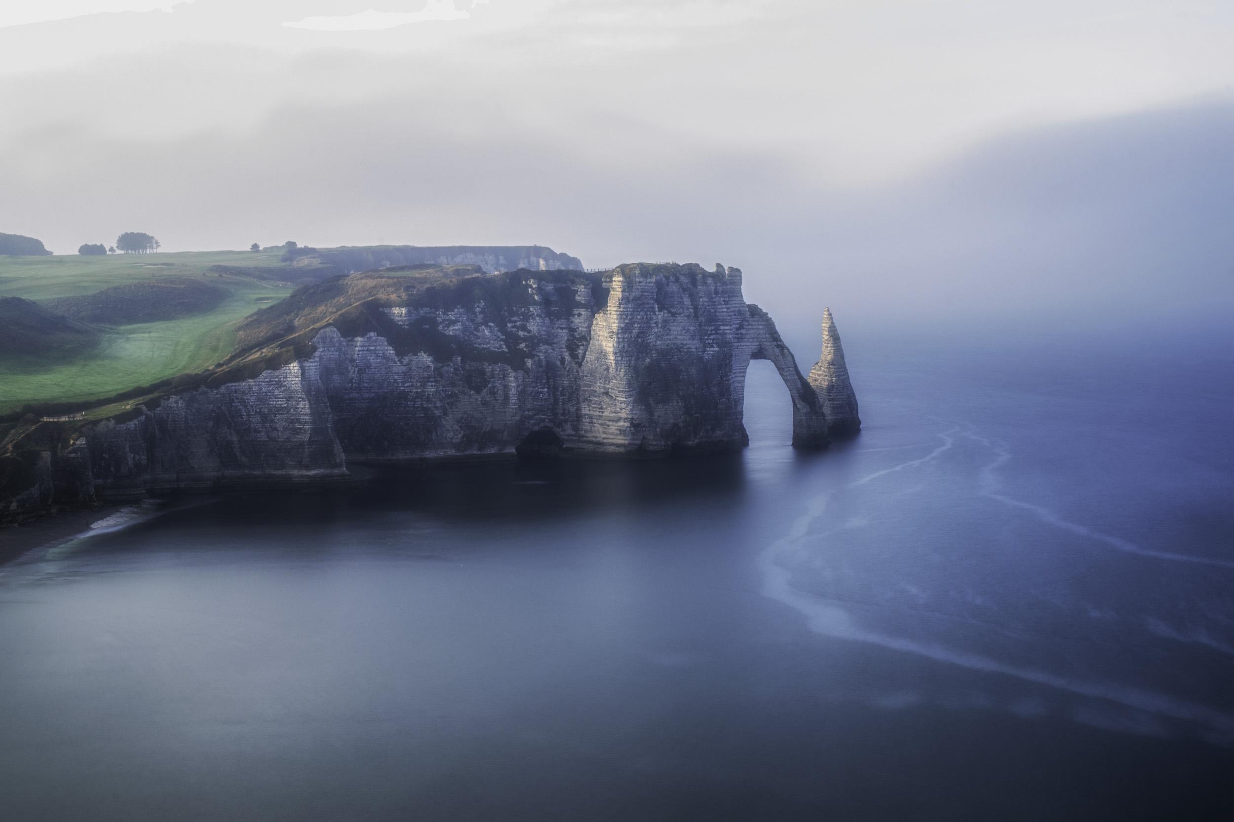 Wallpaper Etretat Normandie France Europe Falaises Mer Eau
