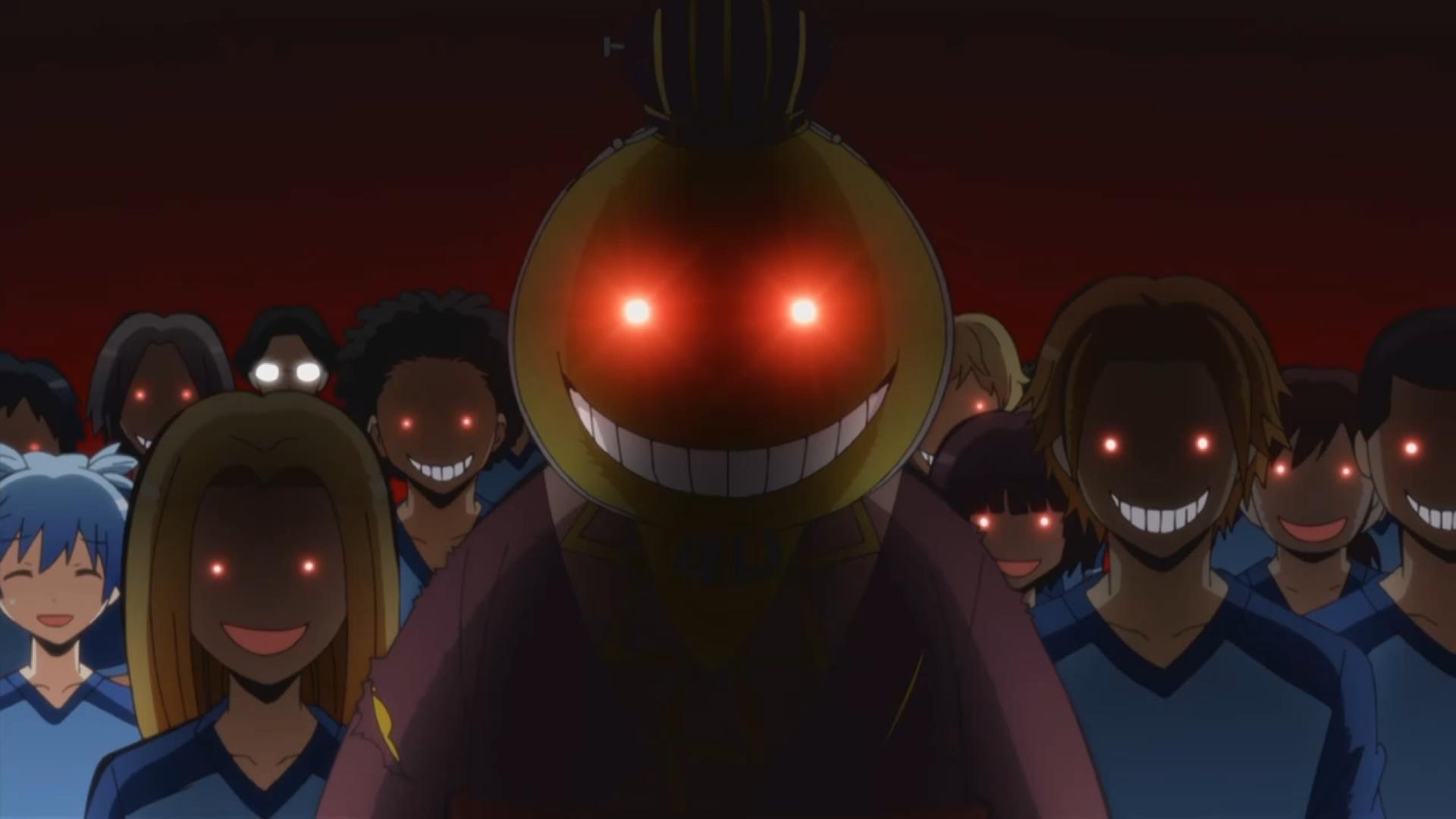 Wallpaper Evil Koro Sensei Midnight Assassination Classroom