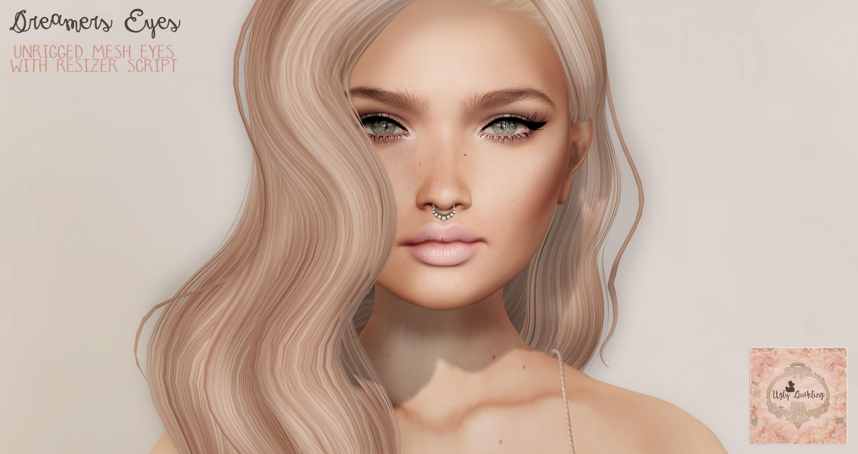Blonde haare und braune augenbrauen