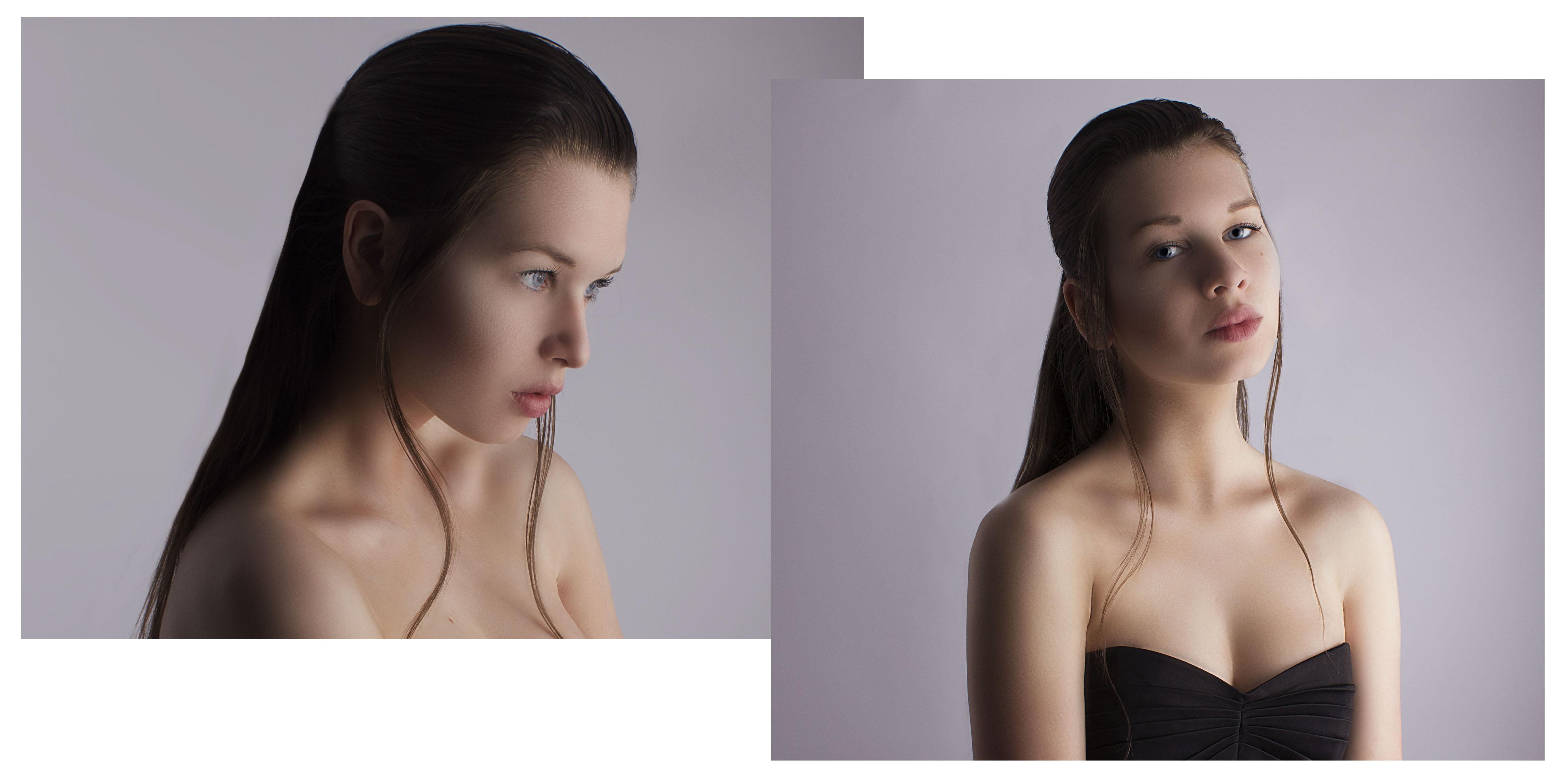 Wallpaper : face, Photoshop, model, portrait, brunette, photography