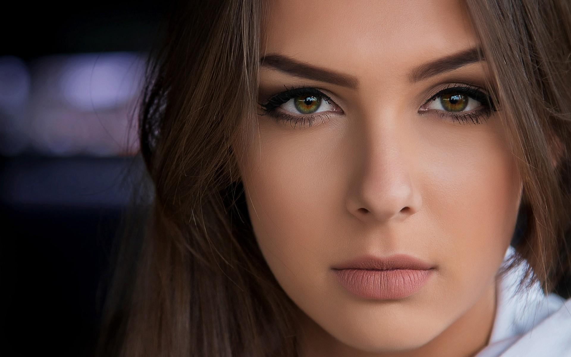 Wallpaper : face, Photoshop, women, model, glasses, black