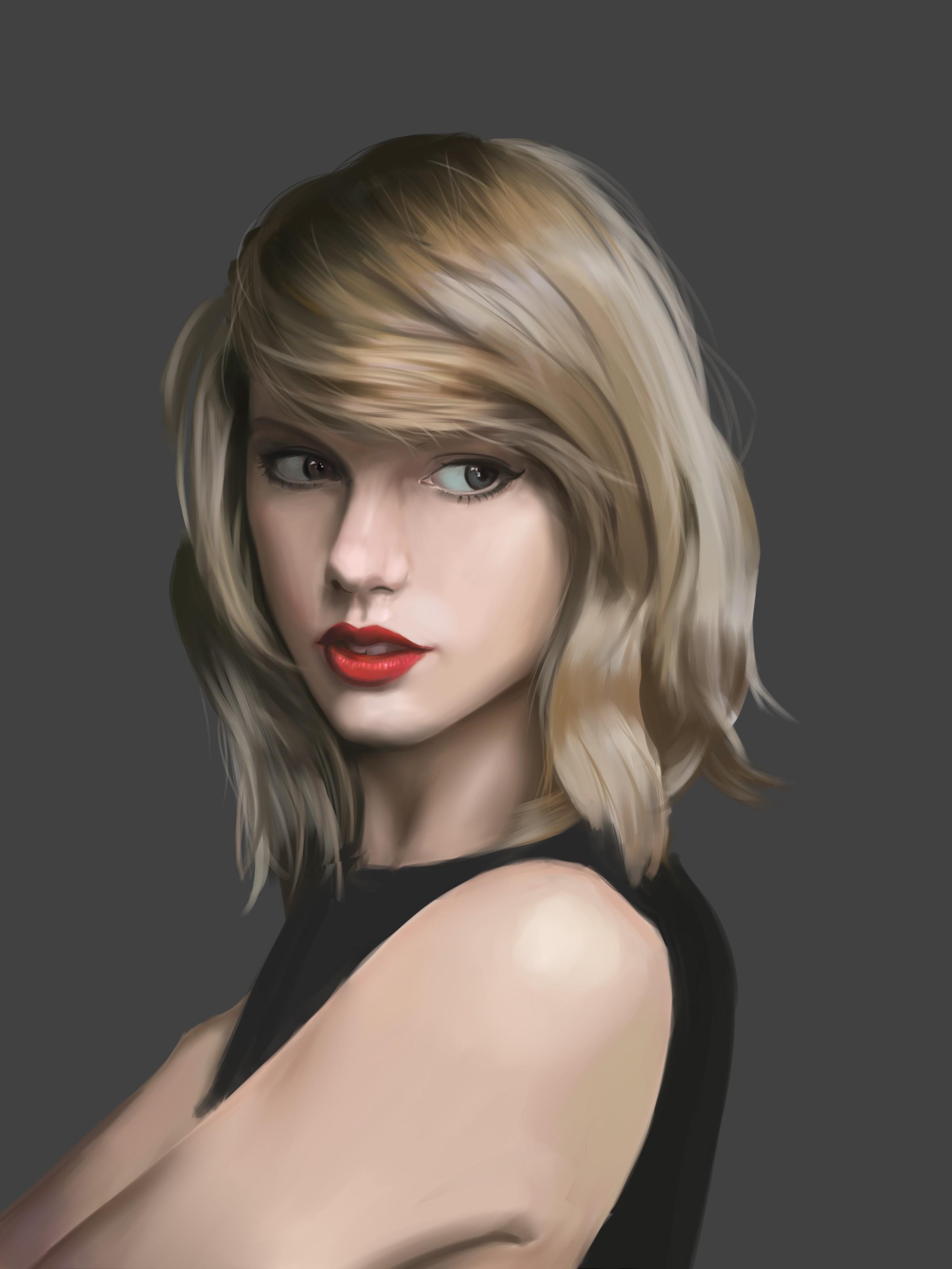 Wallpaper Face Blonde Long Hair Short Hair Black Hair Taylor