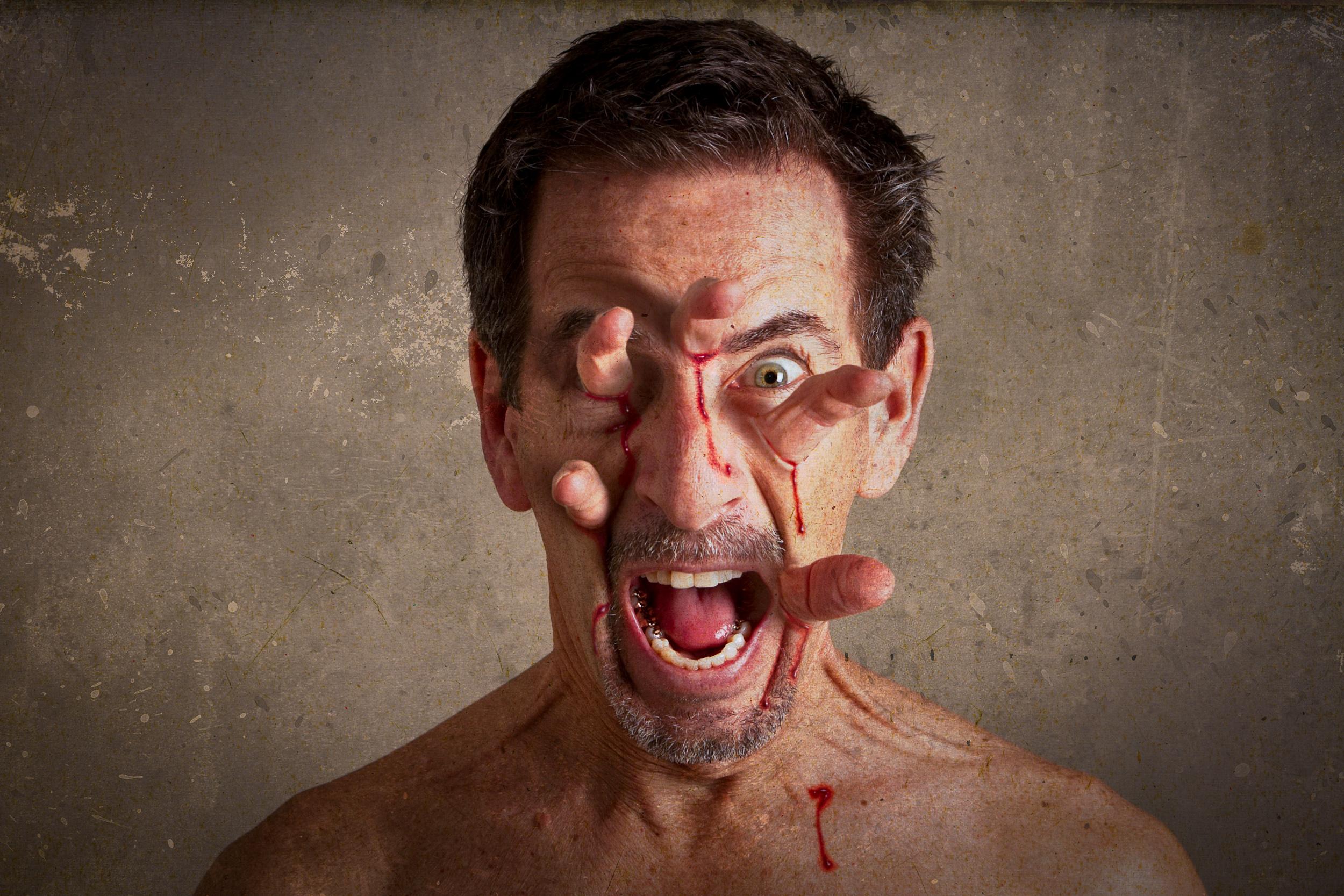зловещие лица картинки фотографии варежек