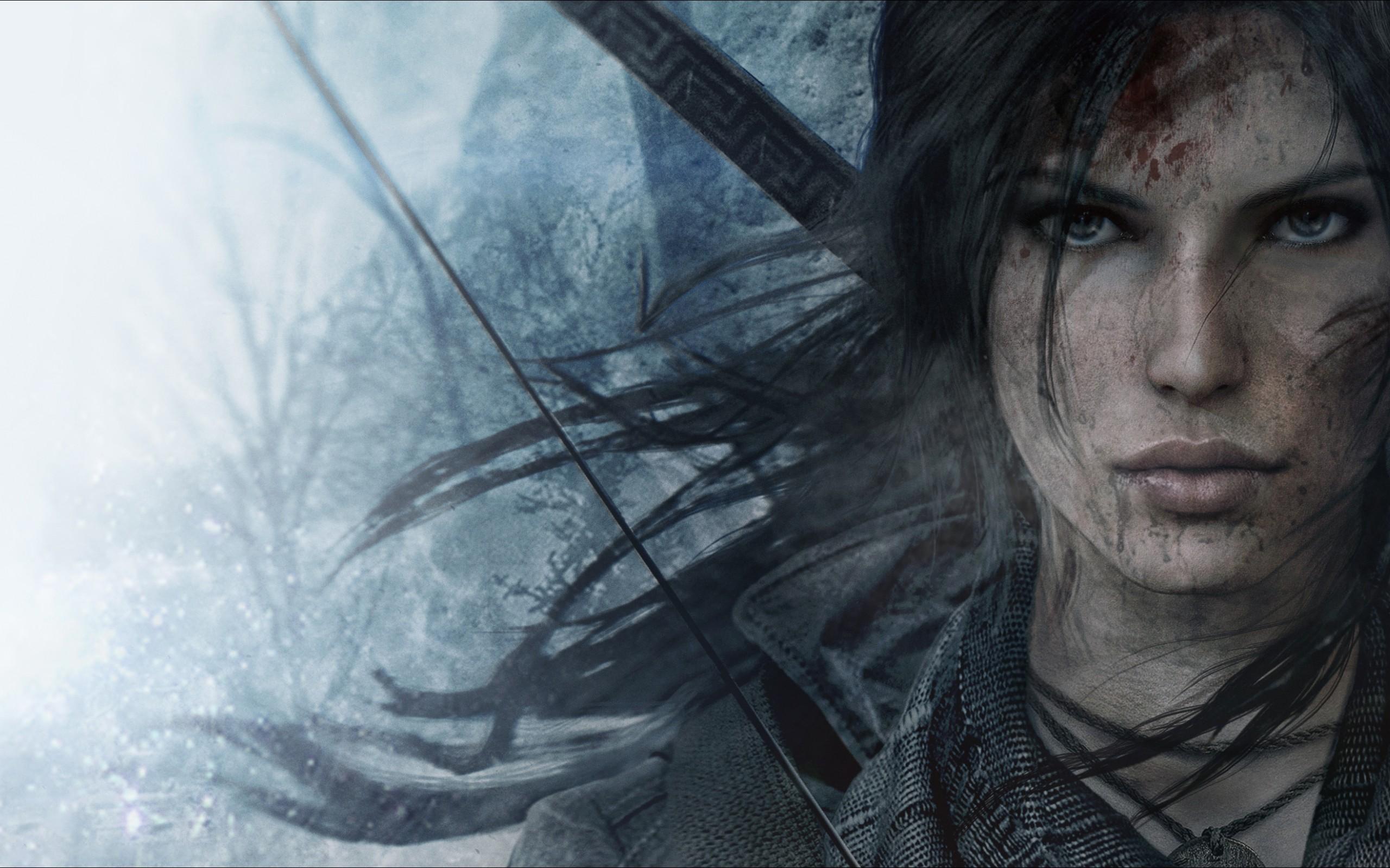 Face Drawing Lara Croft Rise Of The Tomb Raider Darkness Sketch Screenshot Fictional Character