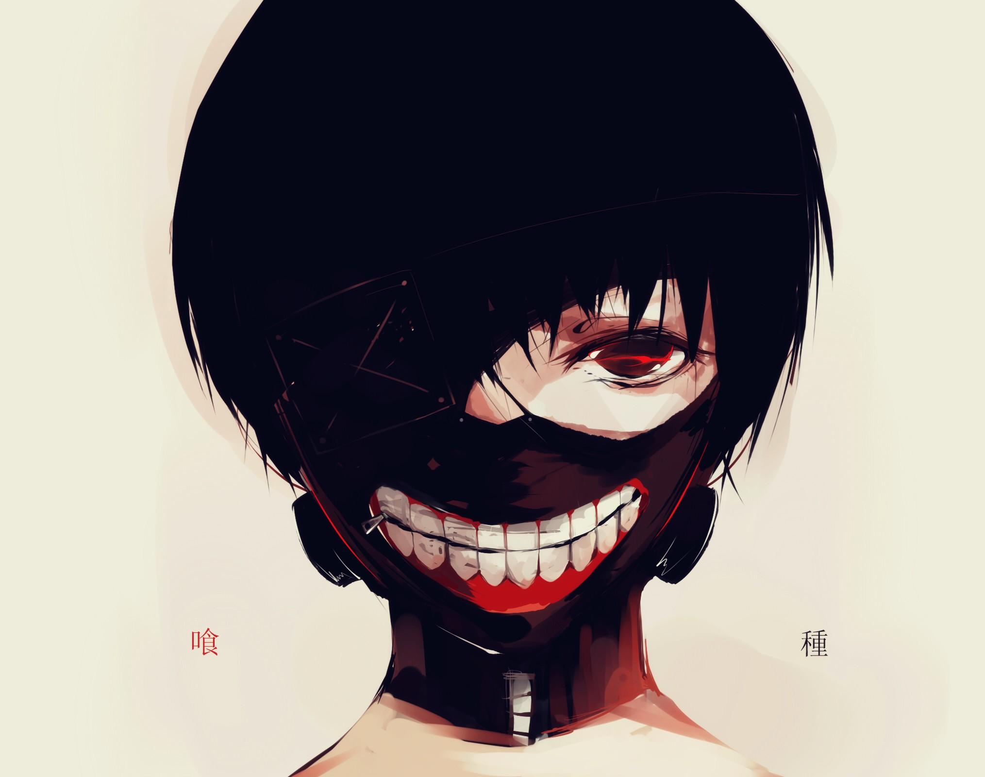 Sfondi viso disegno nero illustrazione ragazzi anime