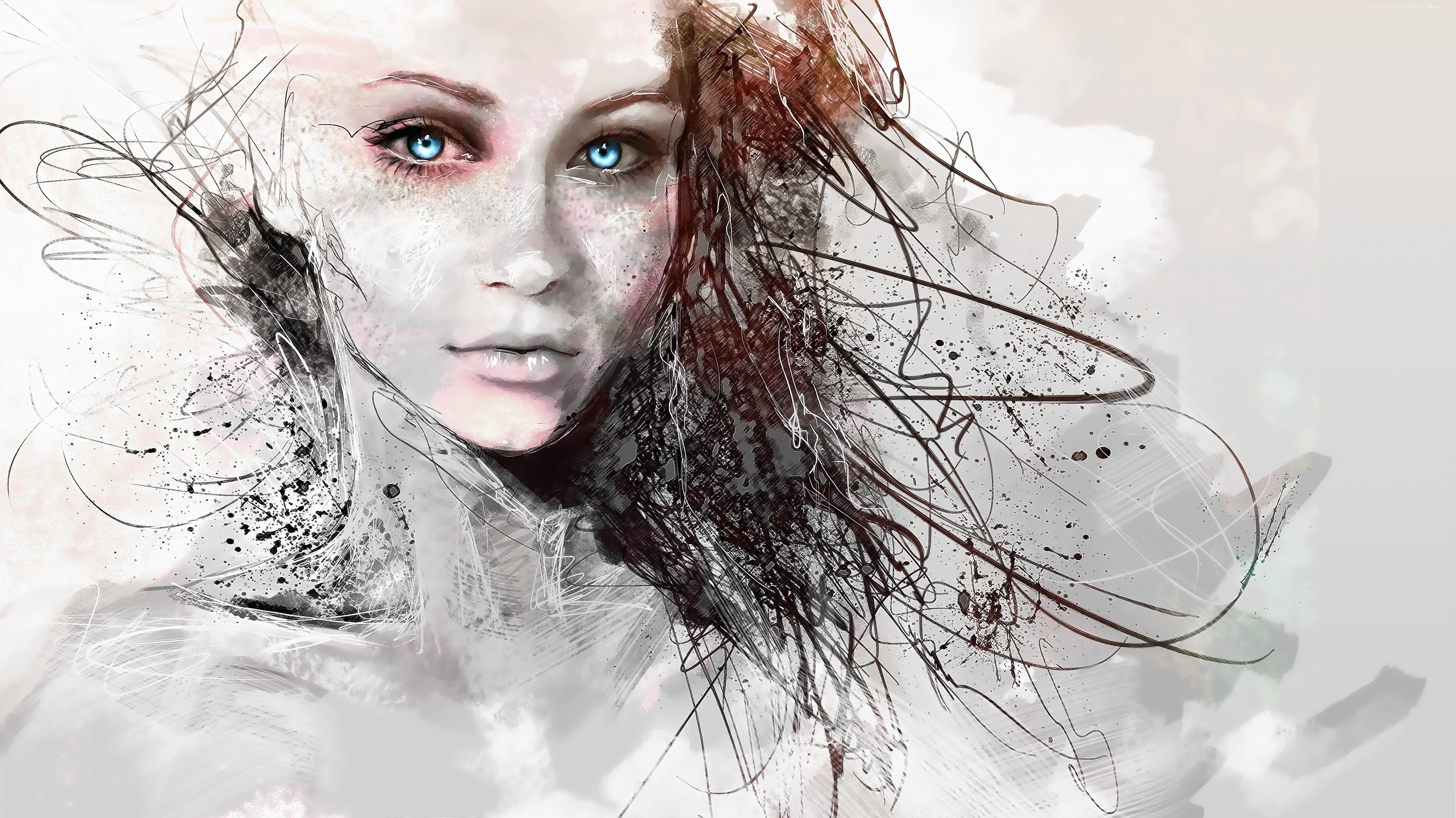 Face Paint Fairy Eyes