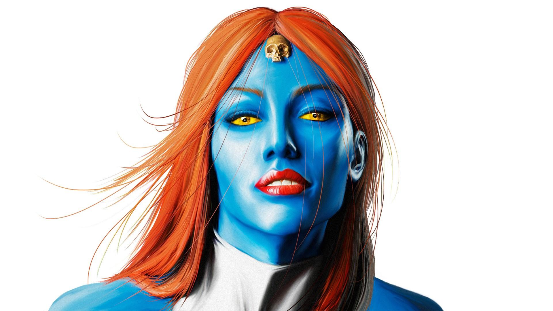 Wonderful Wallpaper Marvel Face - face-illustration-blue-cartoon-Marvel-Comics-hair-Mystique-clothing-head-ART-woman-costume-572773  Collection_457874.jpg