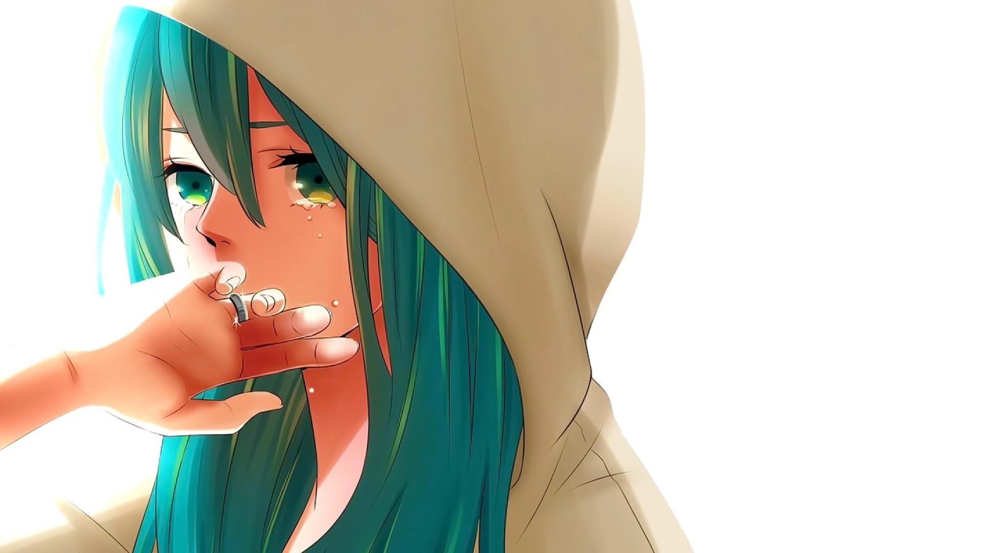 Fondos De Pantalla Cara Ilustracion Pelo Largo Anime Chicas