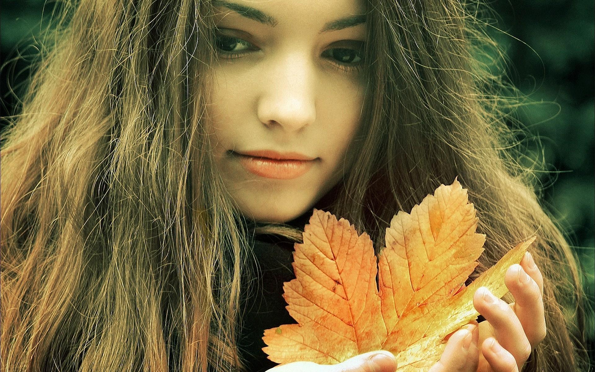 Девушка и осень картинки для вк