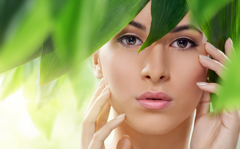 Зеленая косметика картинки