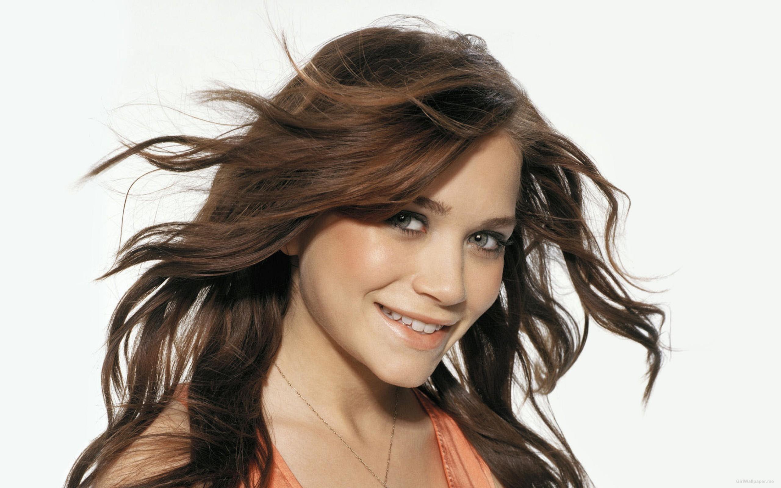 Wallpaper Face Model Long Hair Celebrity Singer