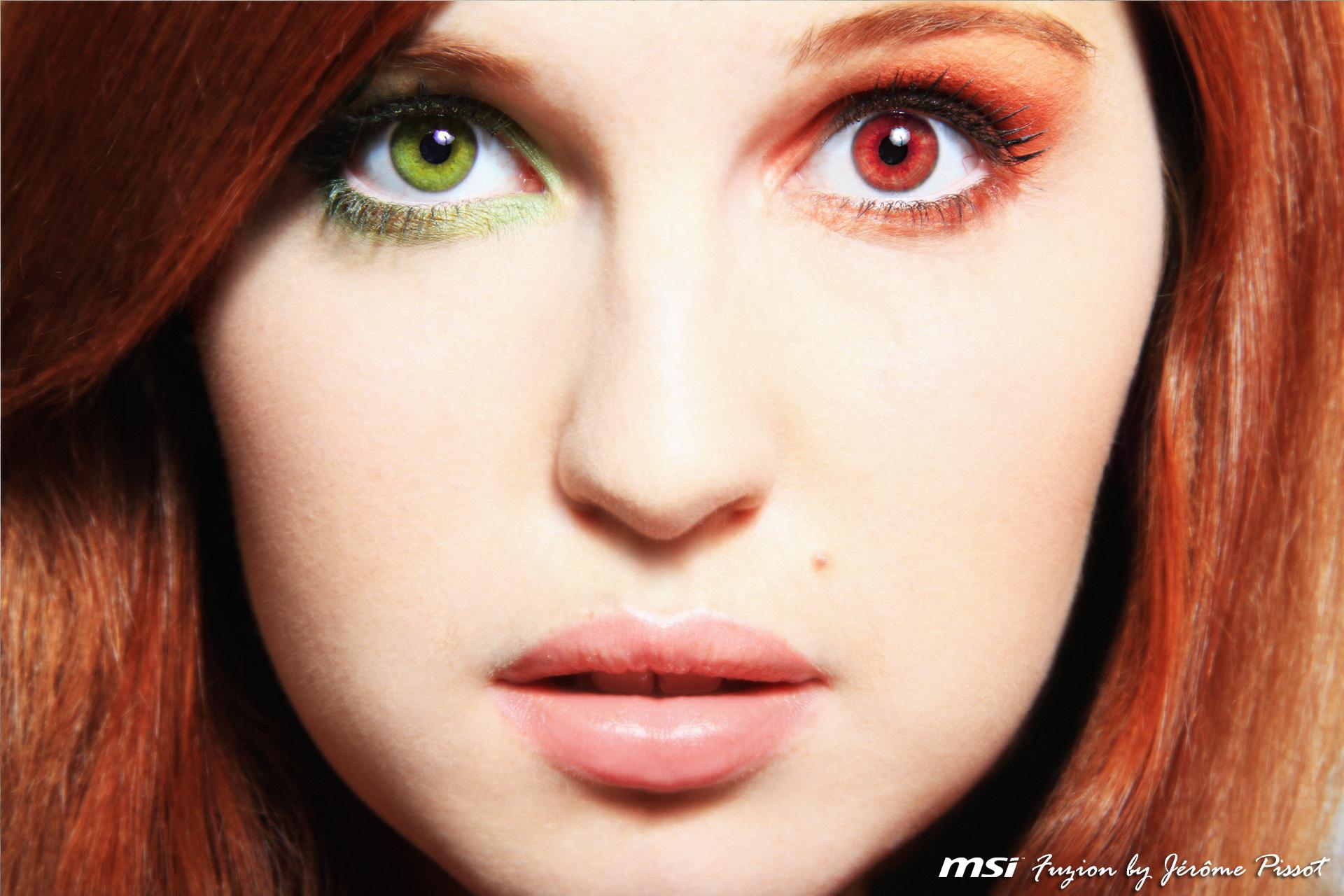 Hintergrundbilder Gesicht Modell Lange Haare Brille Rot