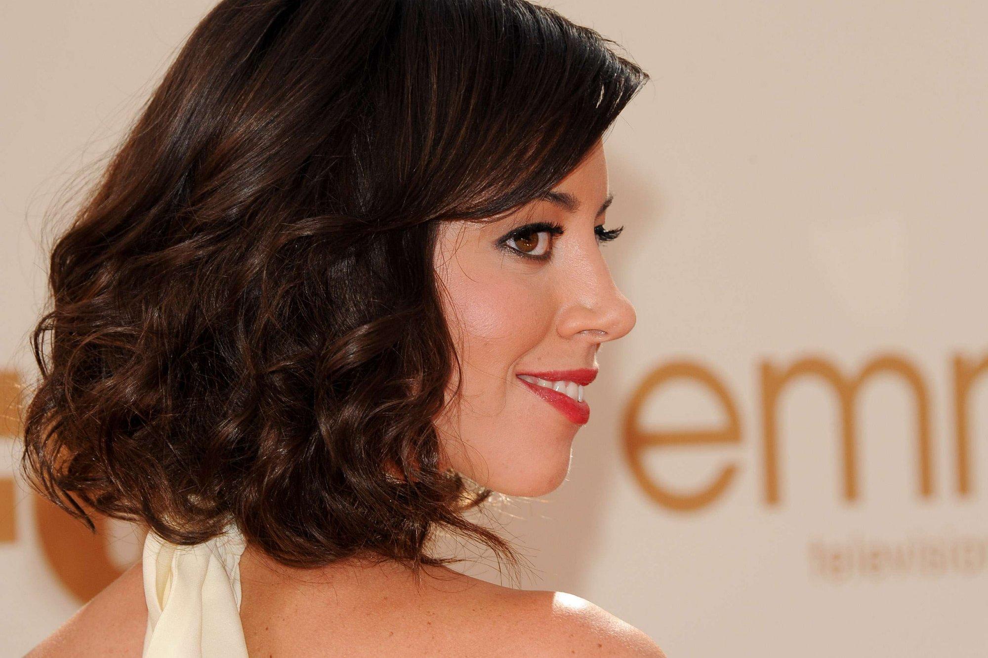 Wallpaper Face Model Long Hair Makeup Profile Actress Black