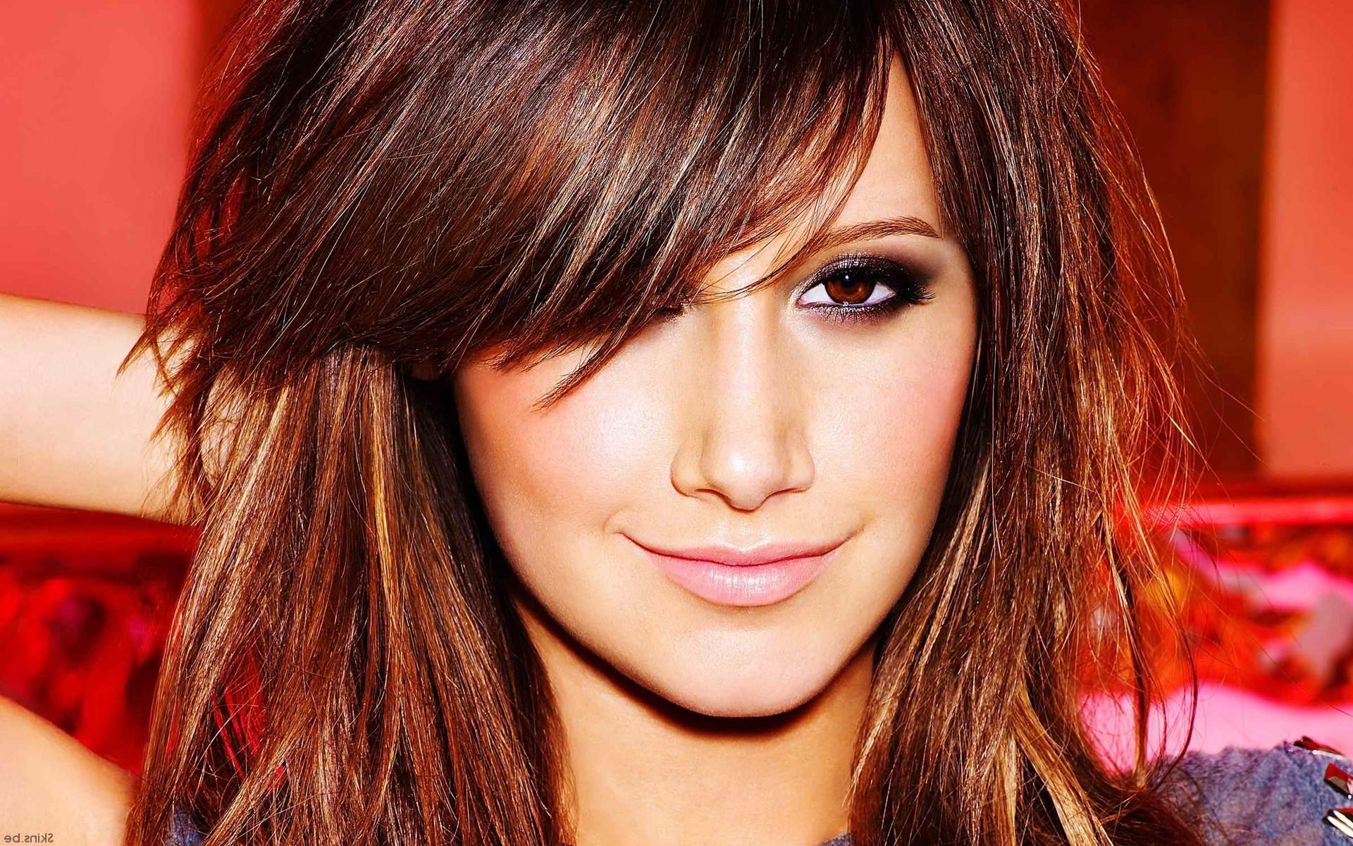 Hintergrundbilder Gesicht Modell lange Haare Sänger