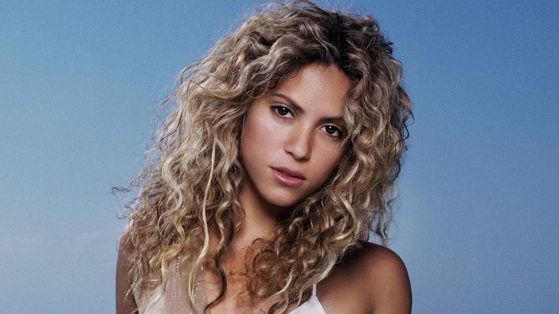 Wallpaper Face Long Hair Sky Black Hair Shakira Supermodel