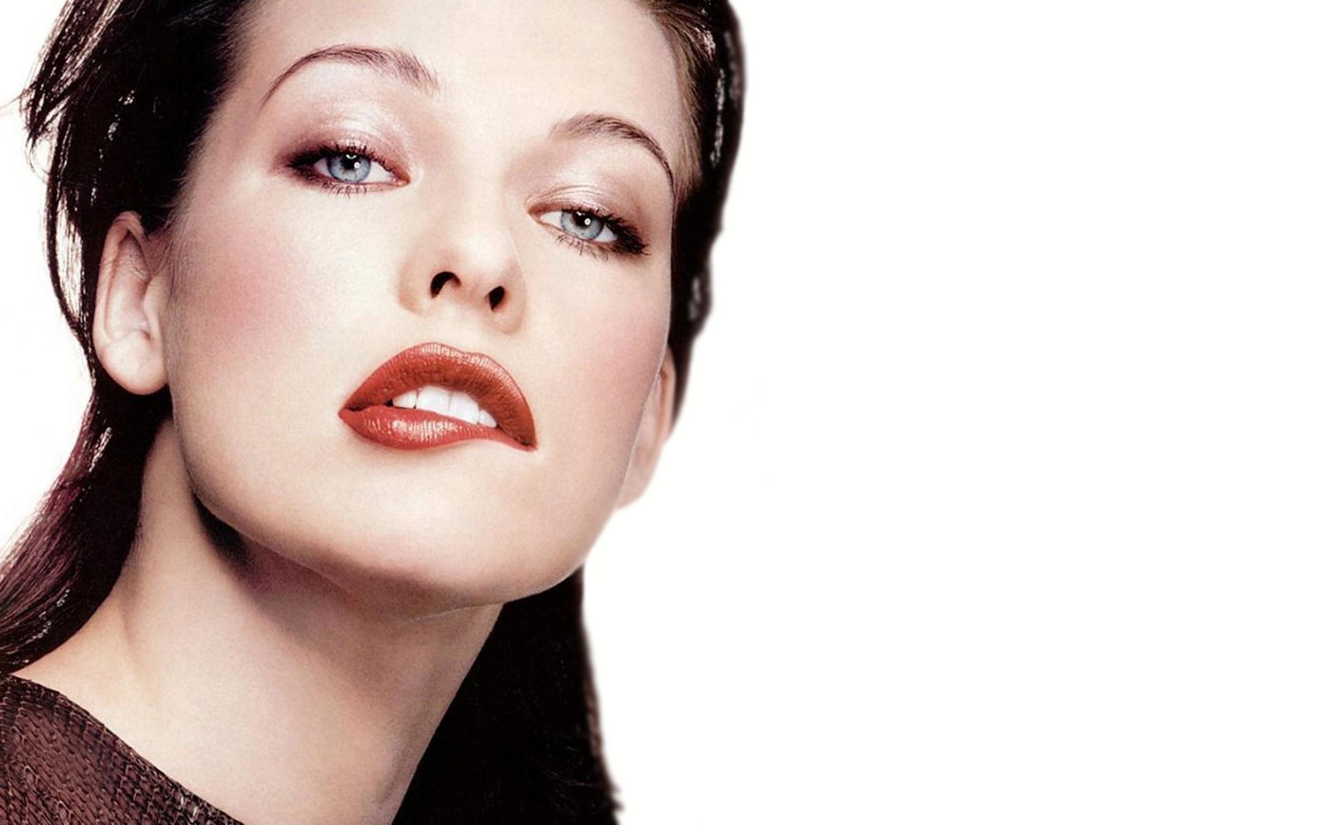 Wallpaper : Face, Model, Milla Jovovich, Makeup, Celebrity