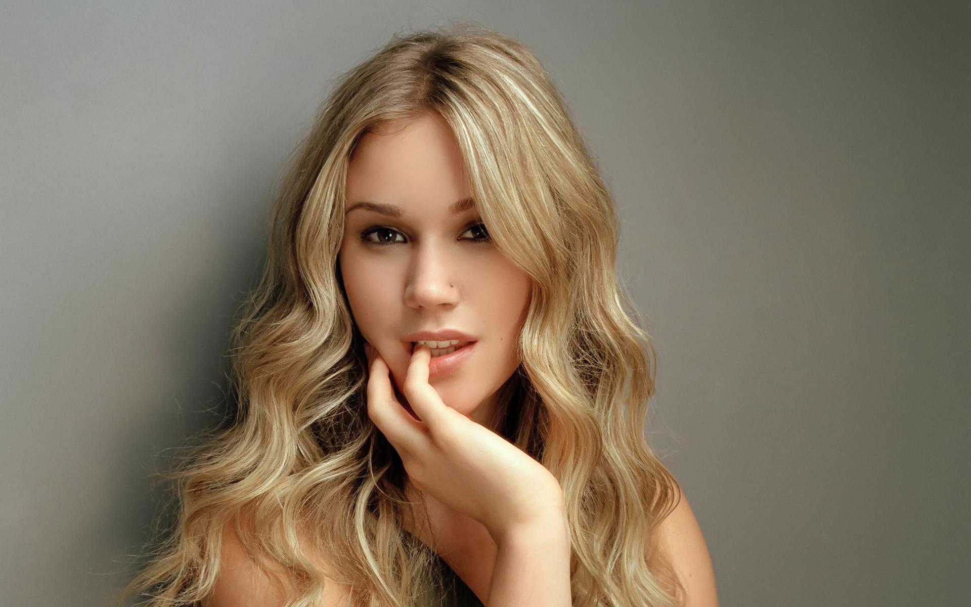Wallpaper Face Blonde Long Hair Actress Fashion Skin Head