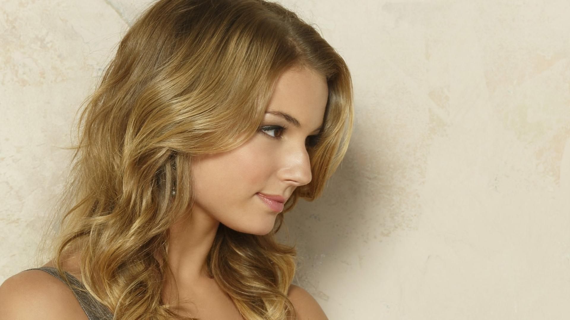 Wallpaper Face Model Blonde Long Hair Profile Actress Nose