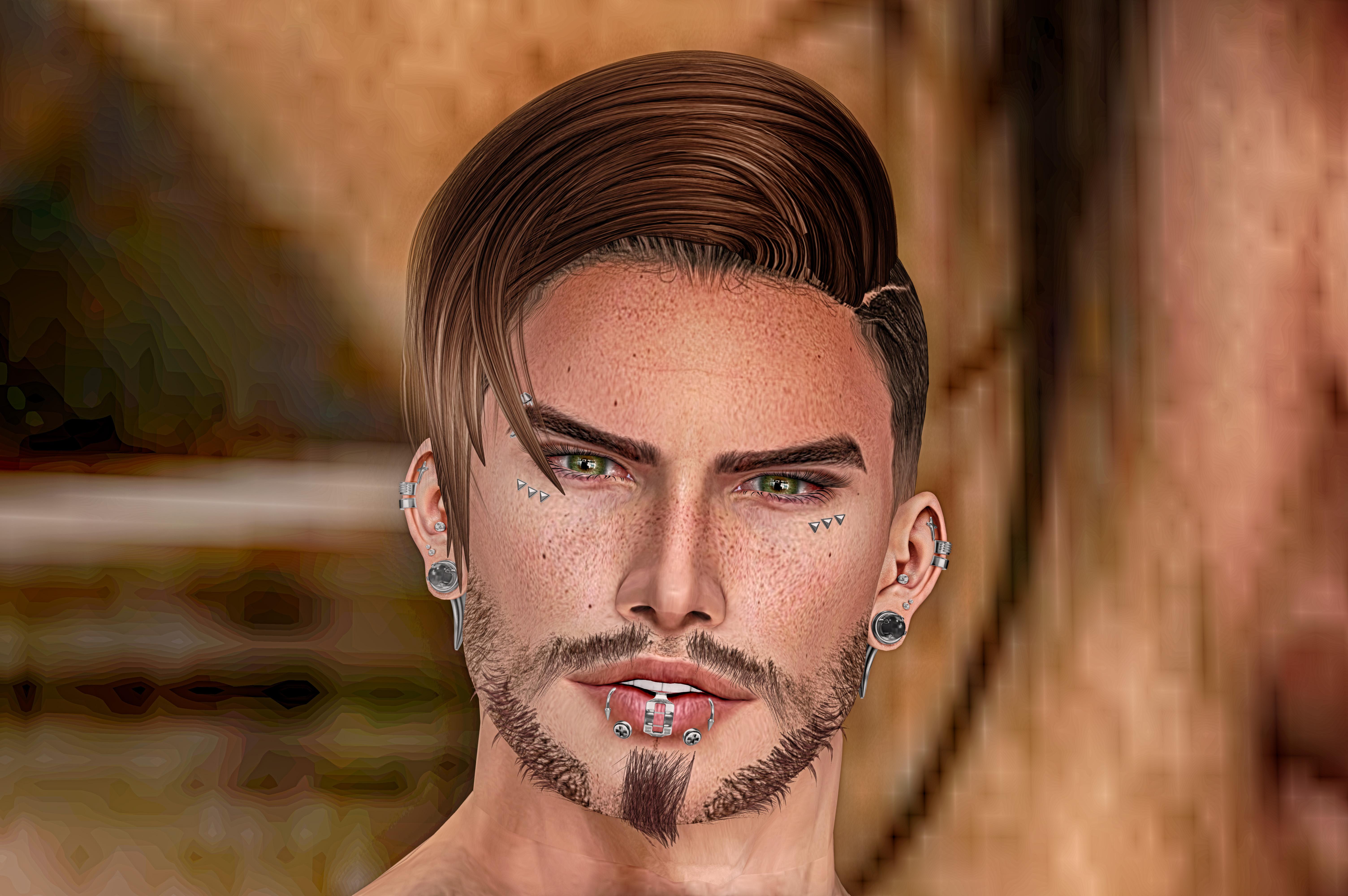 sexy facial hair