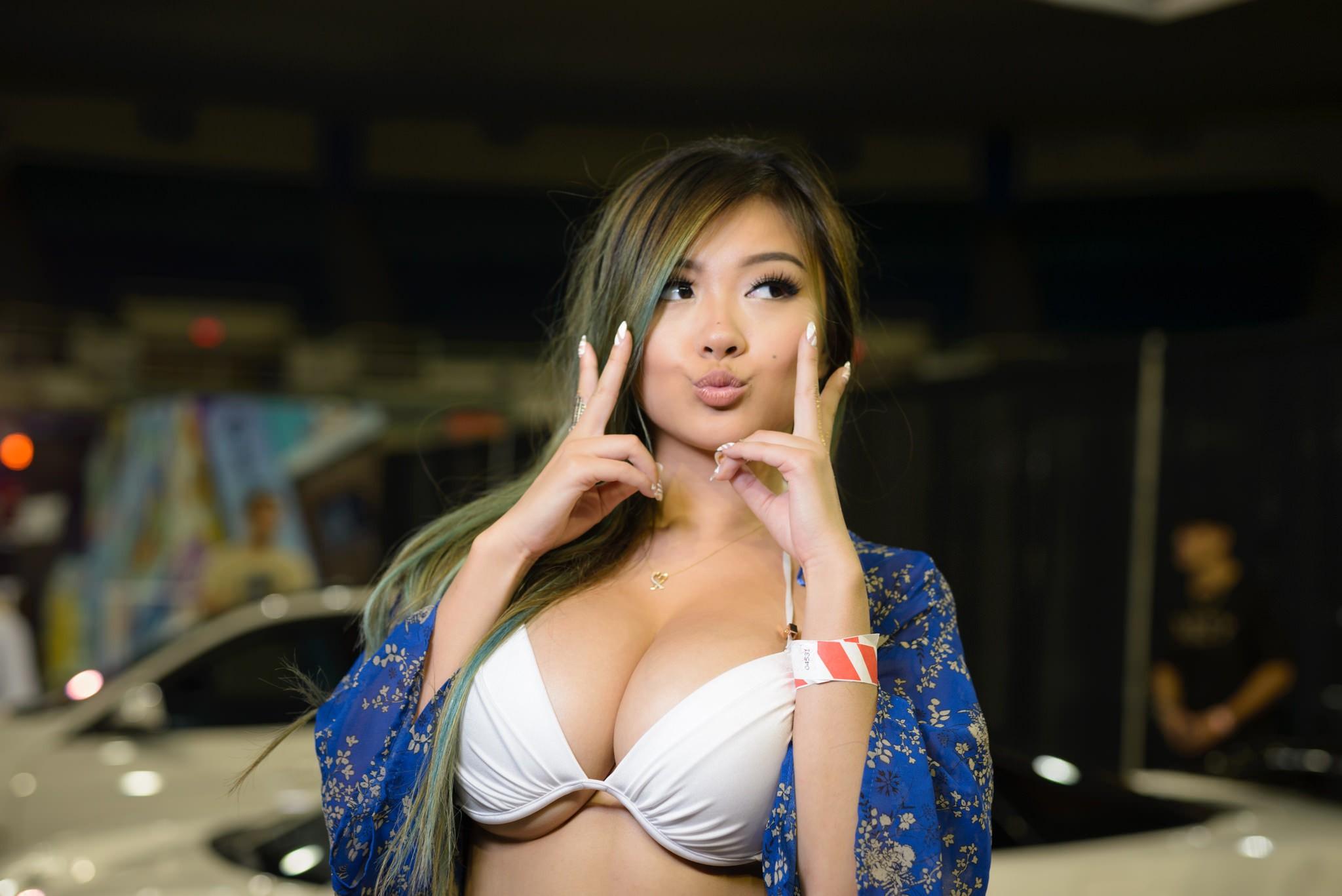 Her Bikini Off