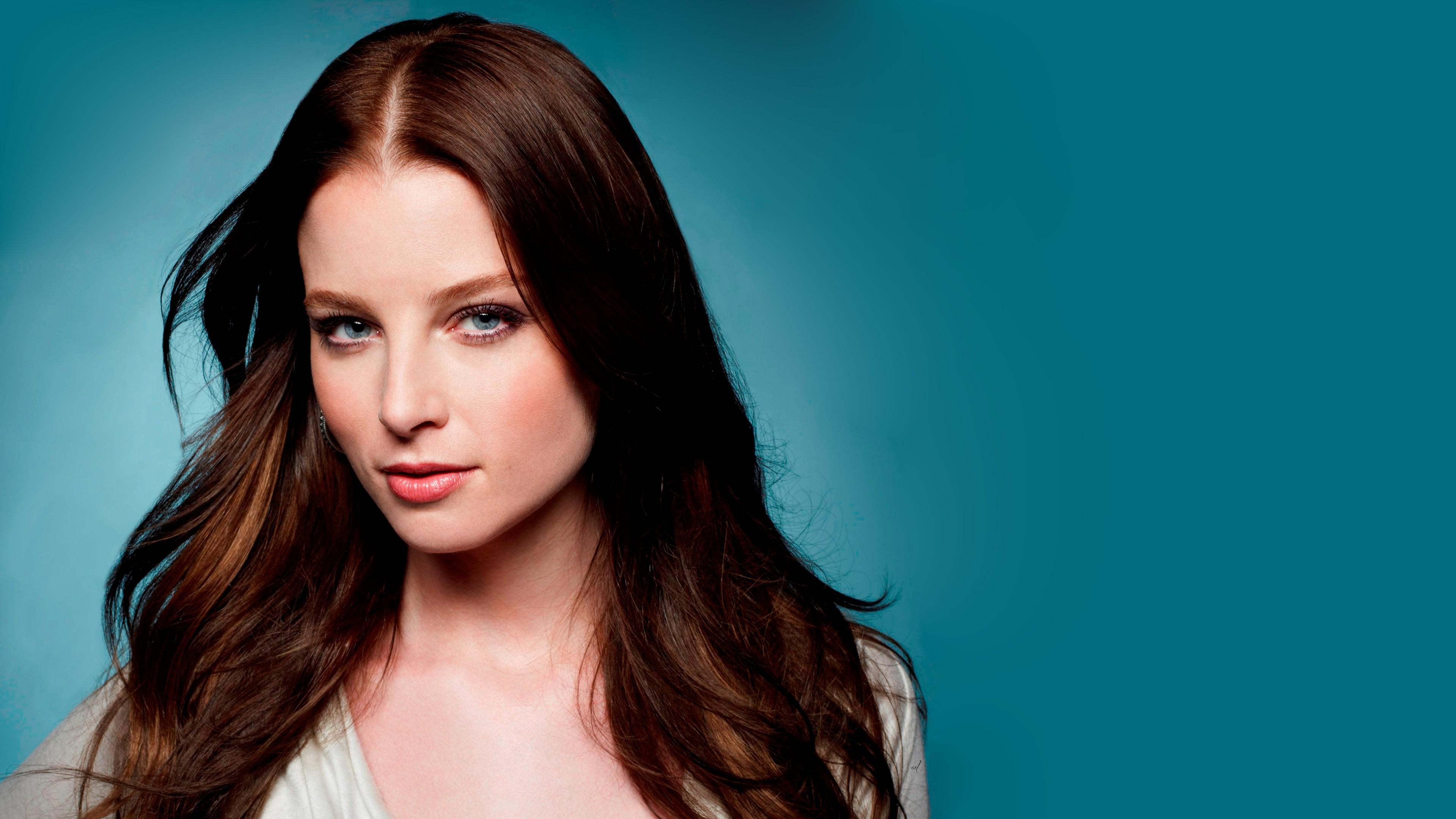 Wallpaper Face Women Model Brunette Singer Blue: Wallpaper : Face, Model, Long Hair, Blue Eyes, Brunette