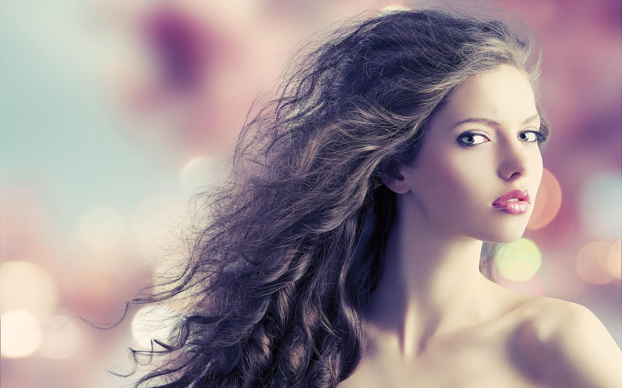 Wallpaper  Face, Model, Long Hair, Black Hair, Fashion, Person, Skin, Head, Color, Flower, Girl -8166