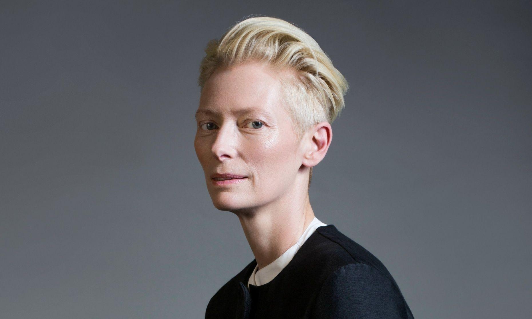 Wallpaper Face Model Singer Fashion Hair Tilda Swinton