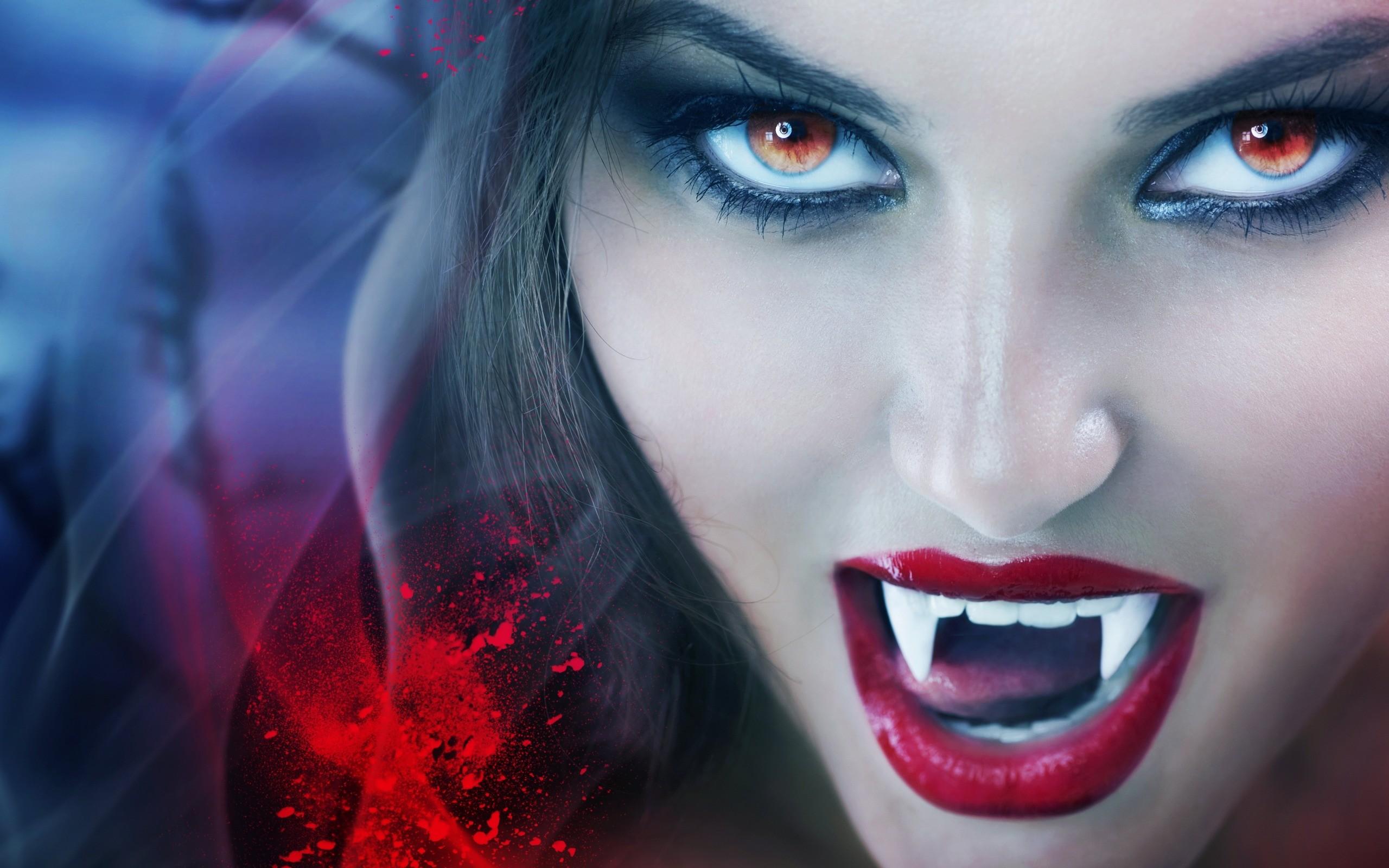 Картинки девушки и вампира