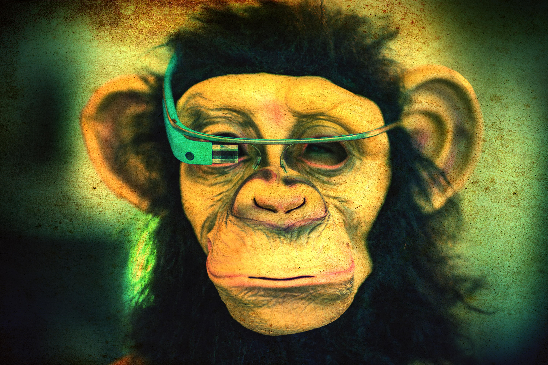 Masaüstü Yüz Boyama Illüstrasyon Portre Maske Yeşil Bardak