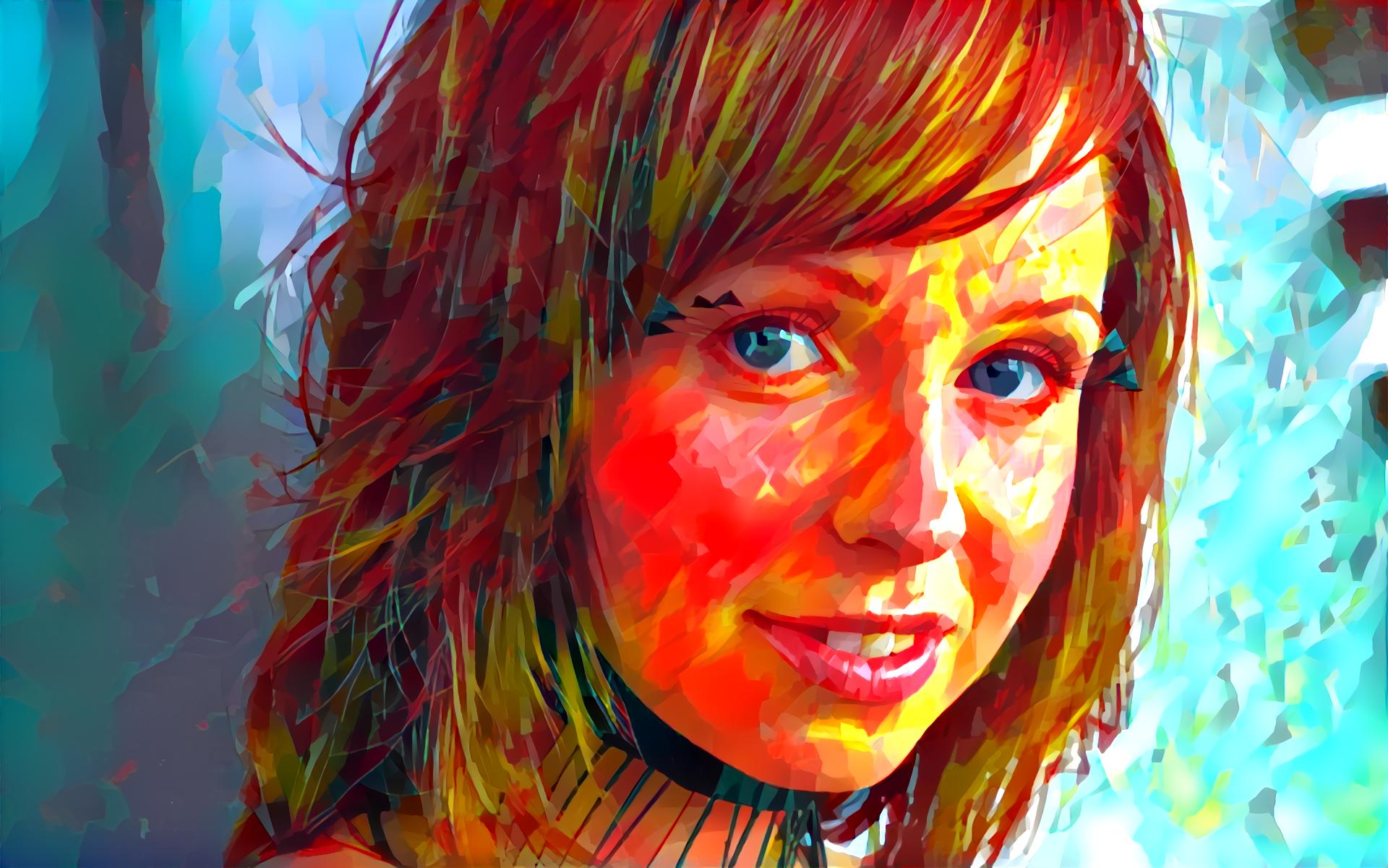 Face Painting People Red Artwork Clown Head Hayden Winters Deep Art Art Color Eye Special Effects
