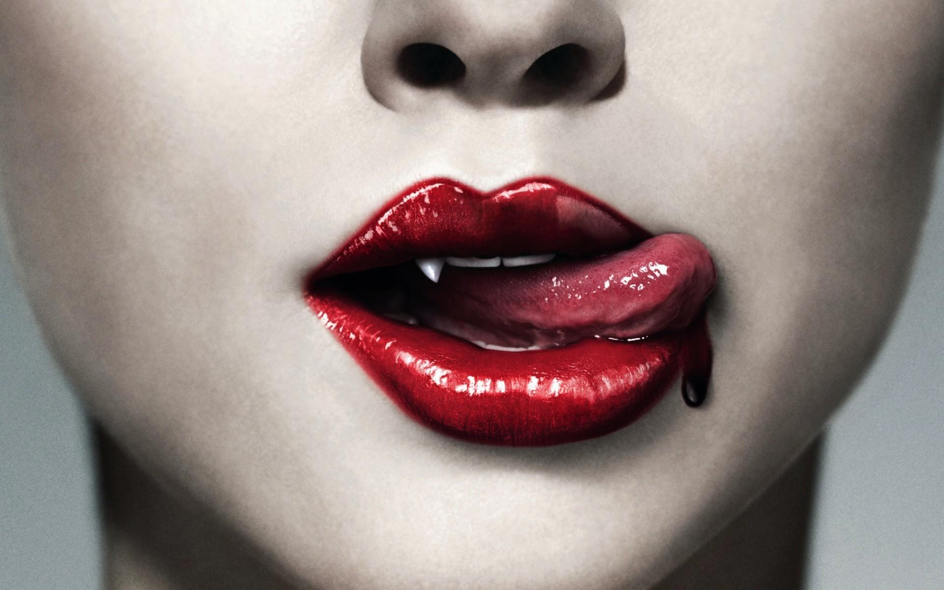 デスクトップ壁紙 面 赤 口紅 吸血鬼 口ひげ 鼻 ピンク 感情 頭 真の血 美しさ 眼 舌 リップ 化粧品 器官 閉じる まつげ 19x10 Saulx123 デスクトップ壁紙 Wallhere