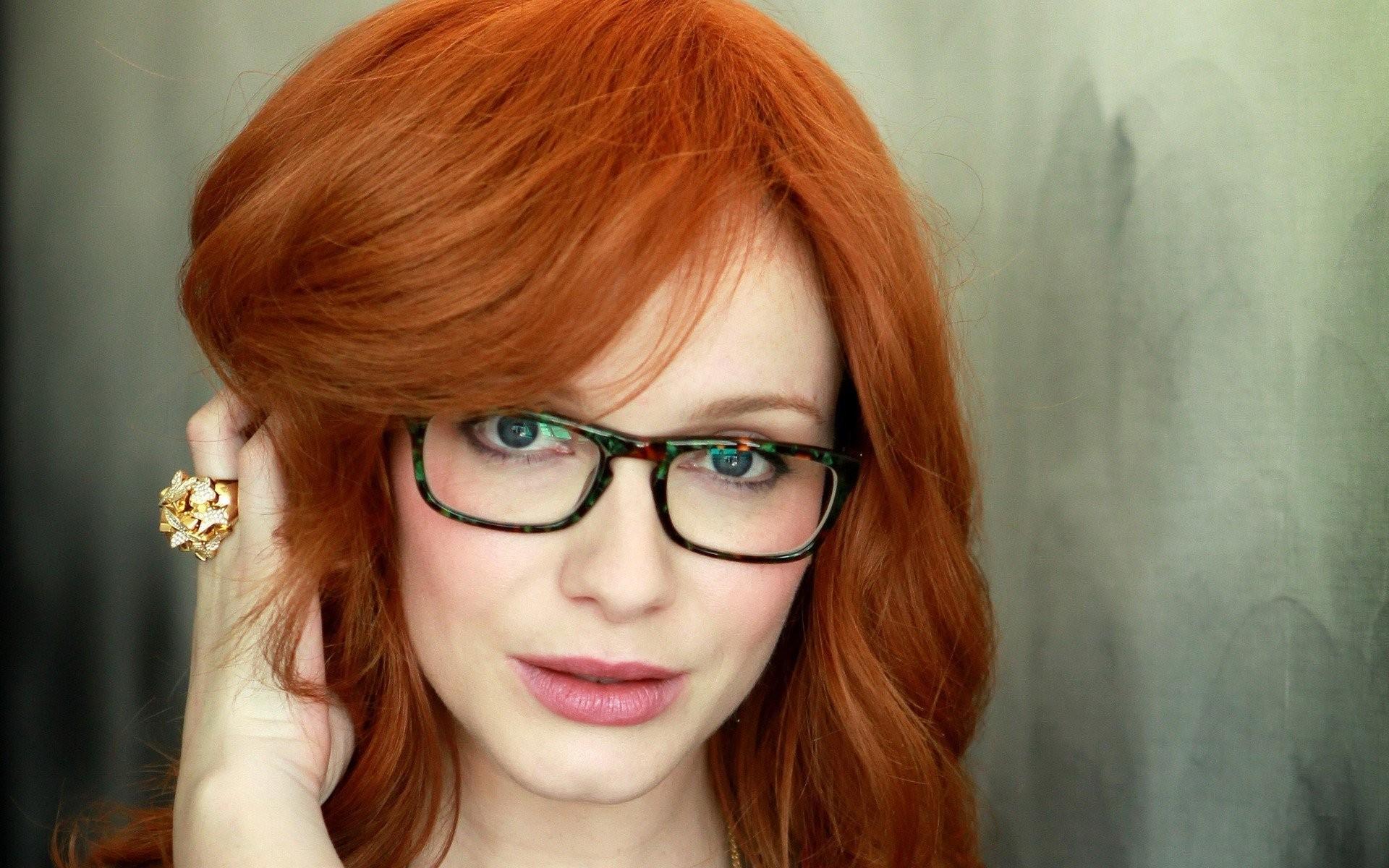 hintergrundbilder gesicht rothaarige modell portr t lange haare frauen mit brille. Black Bedroom Furniture Sets. Home Design Ideas