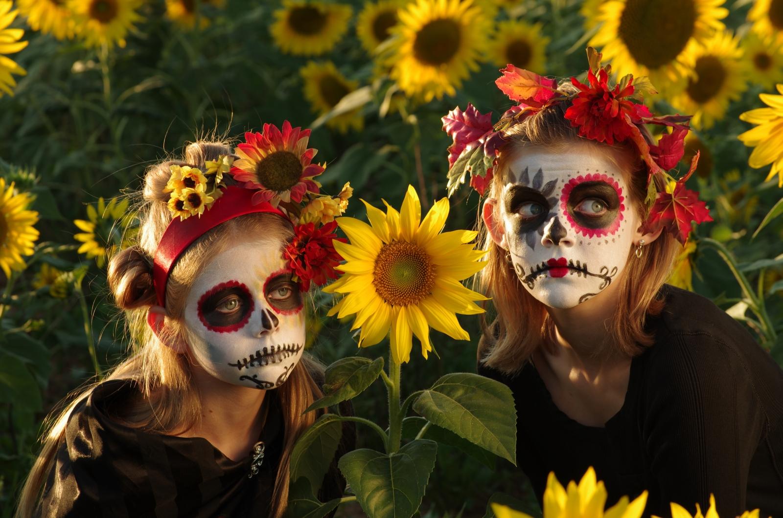 Hintergrundbilder : Gesicht, Sonnenlicht, Blumen, draußen, Feld ...