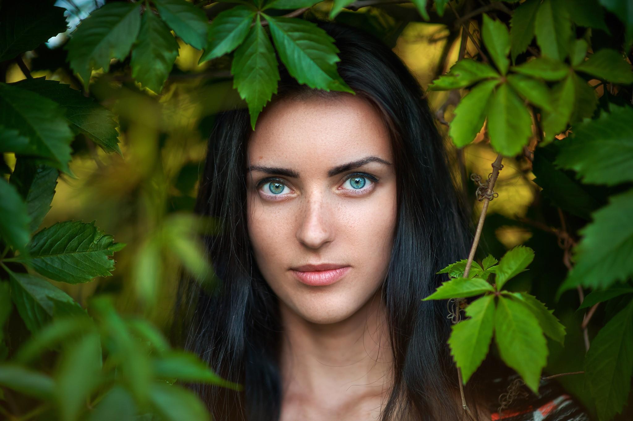 качественный фотопортрет на природе модель выбрать