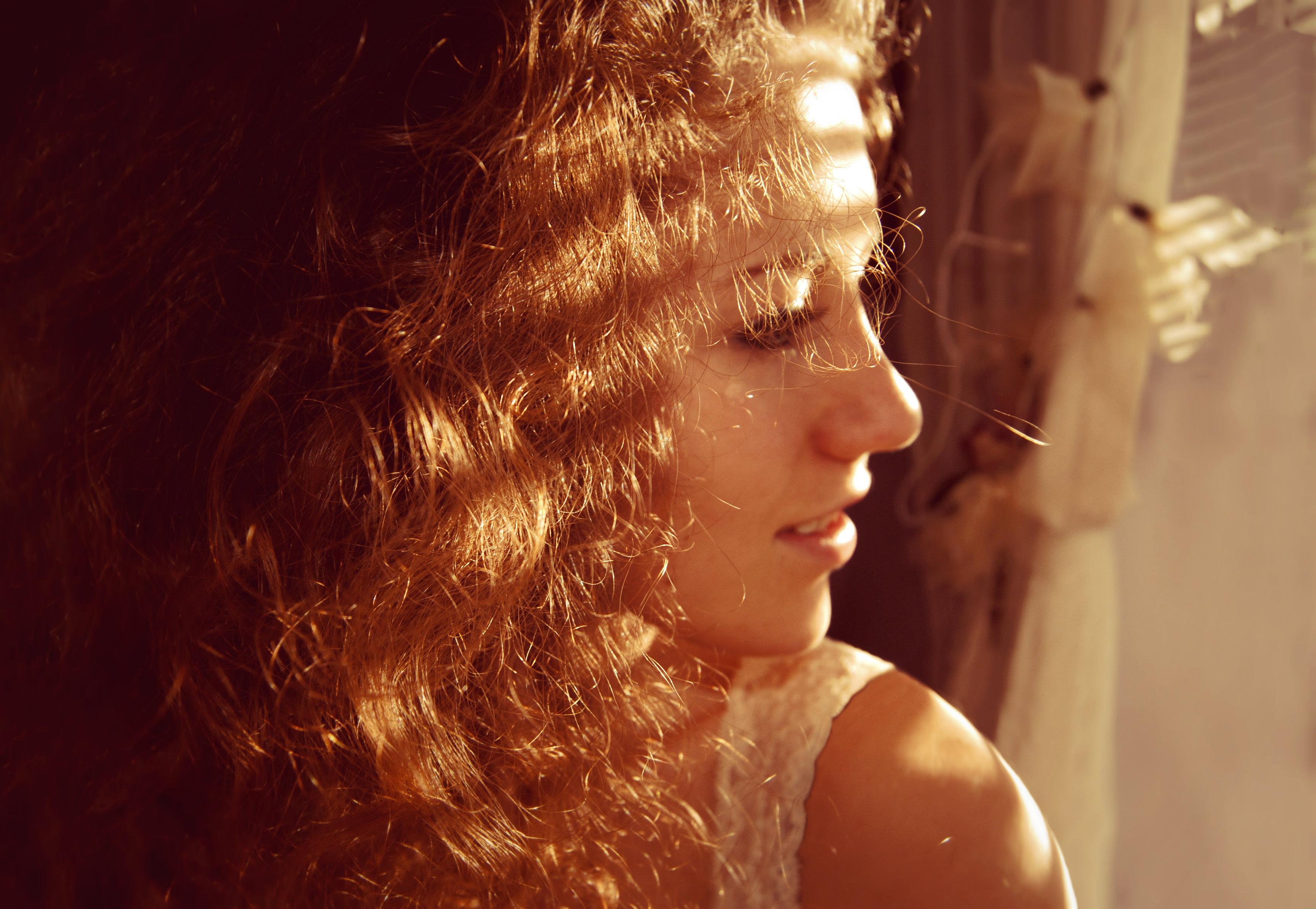 Wallpaper Face Sunlight Portrait Blonde Eyes Long