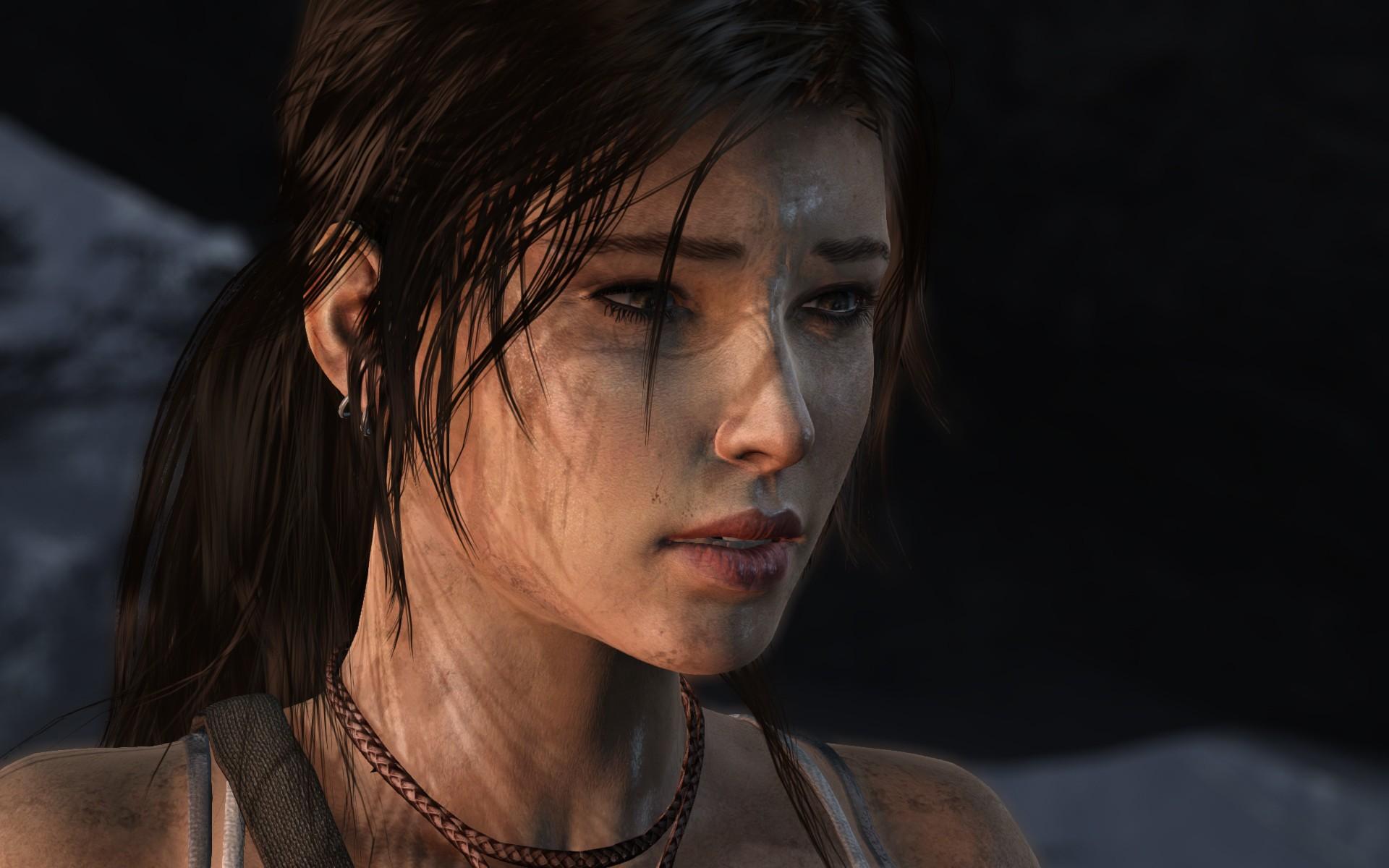 Wallpaper Face Video Games Model Portrait Fashion Lara