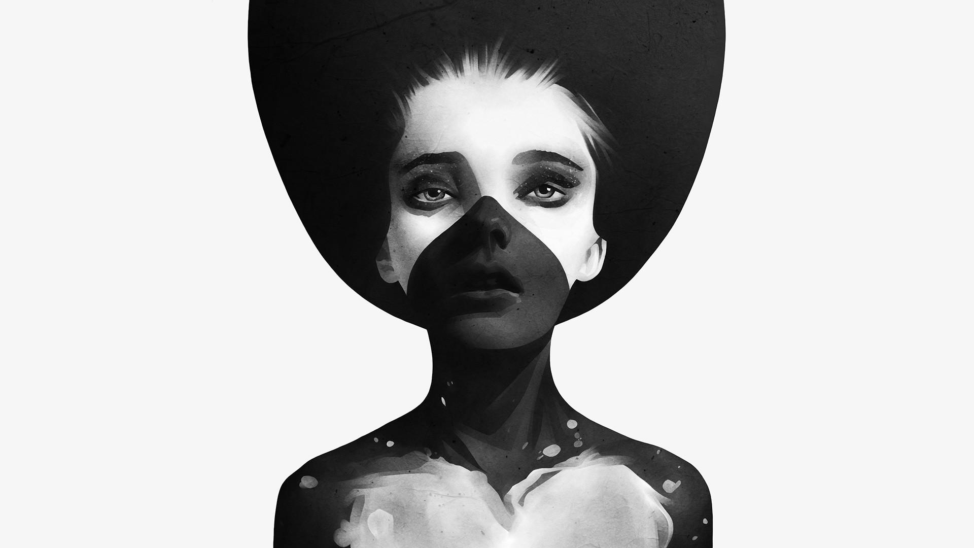 Черно белые картинки пластика