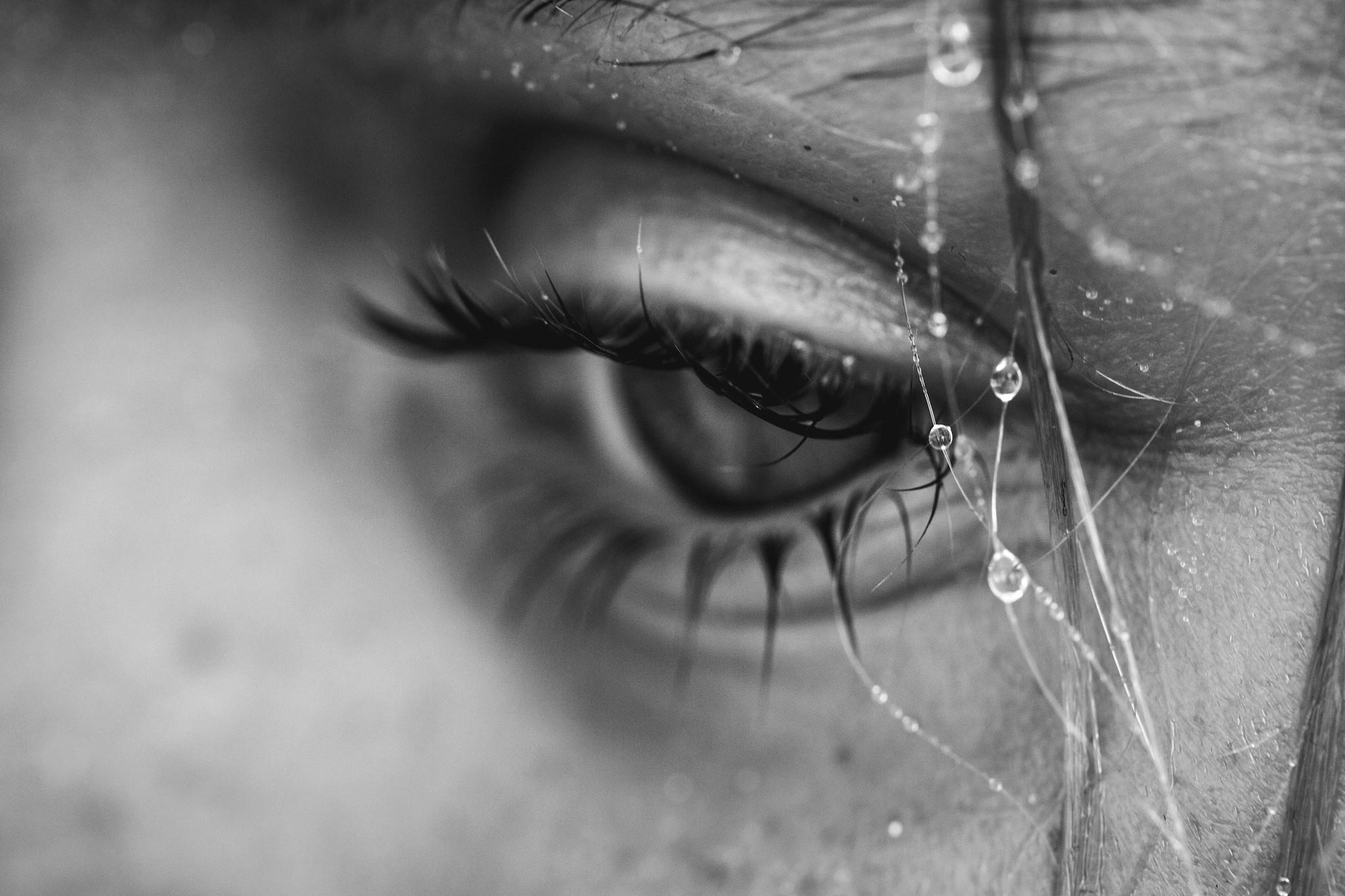 Картинки печальные слезы