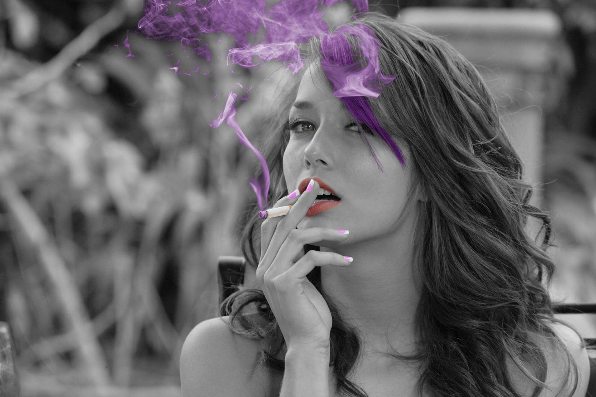 všechny černé kouření