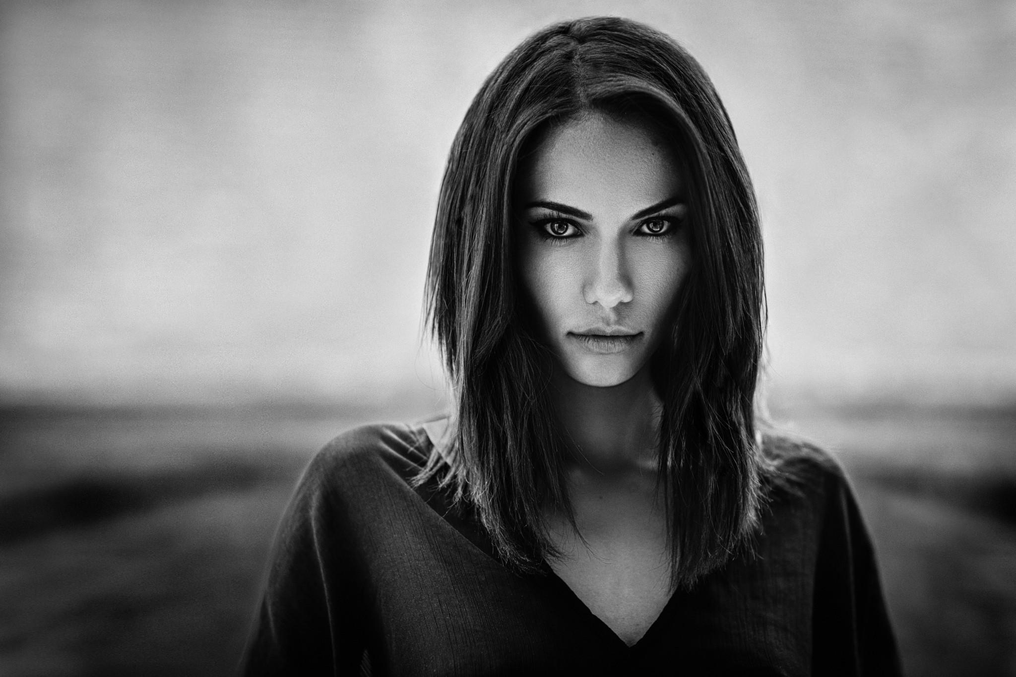 картинки черно белые фотографии лица природный