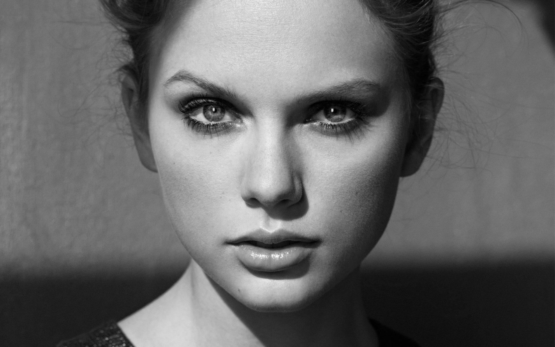 Картинки черно белые фотографии лица