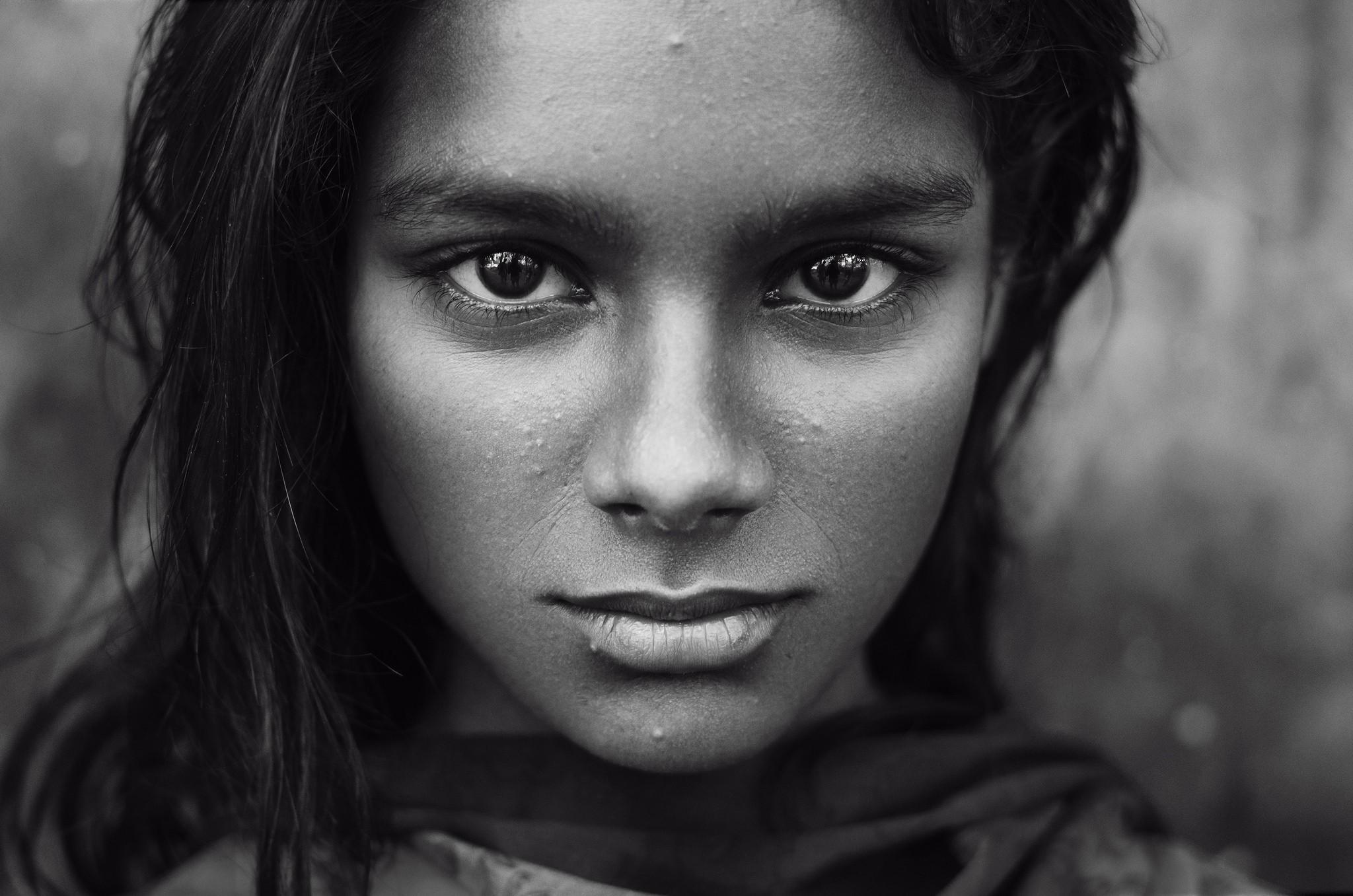 Профессиональные черно белые фотографии людей