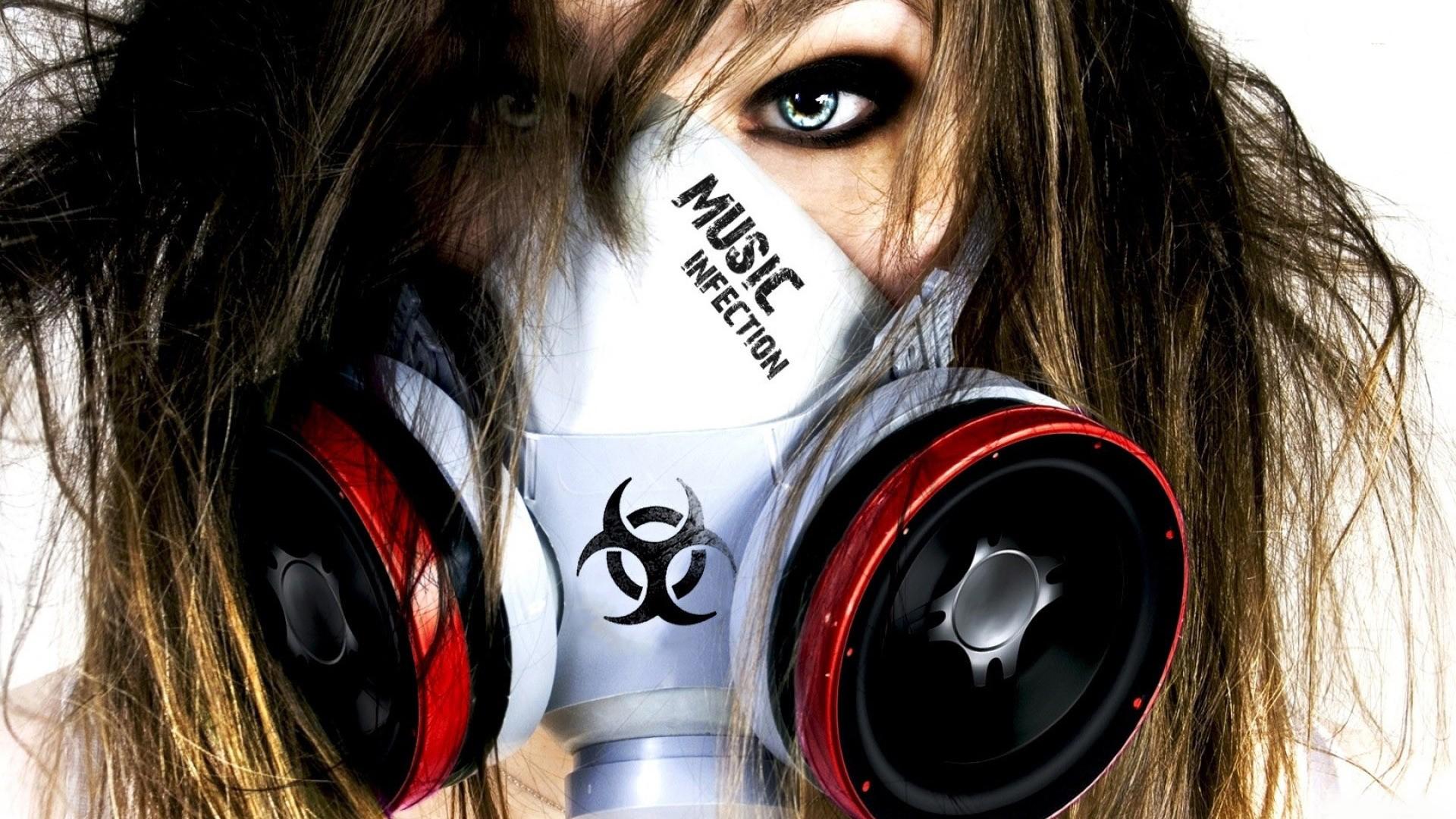 Wallpaper : face, women, gas masks, photography, artwork