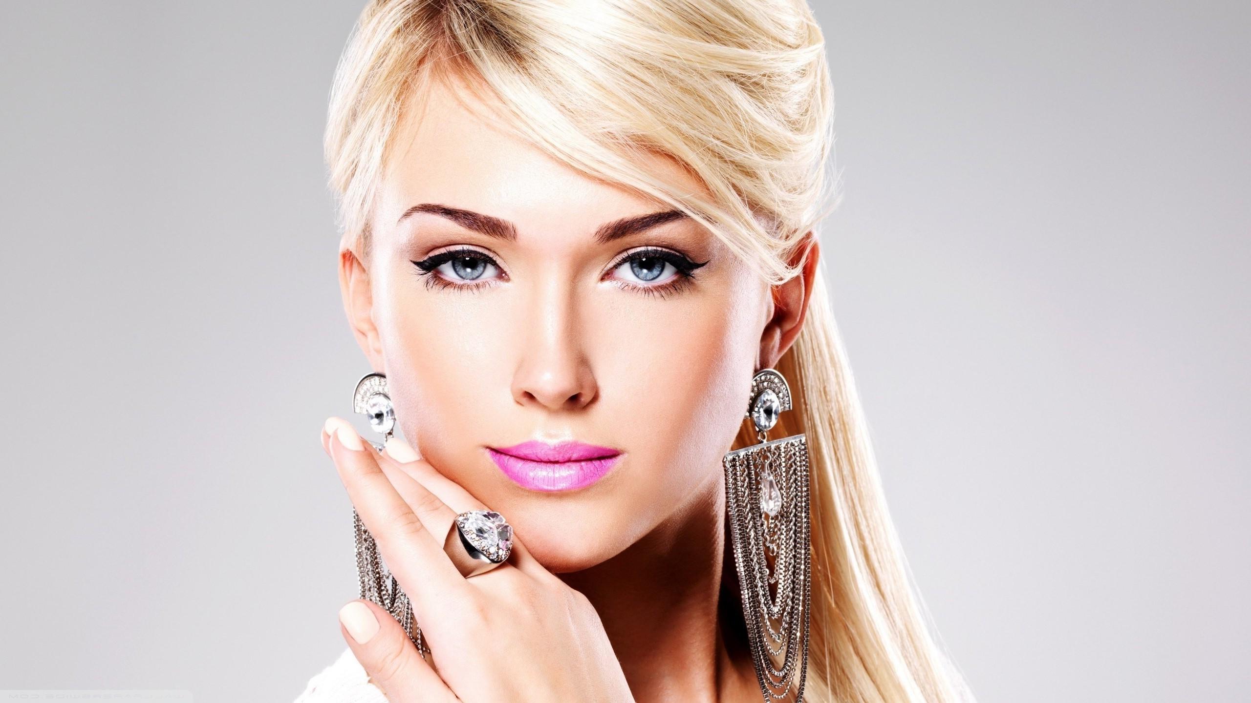 Hintergrundbilder Gesicht Frau Modell Blond Lange Haare