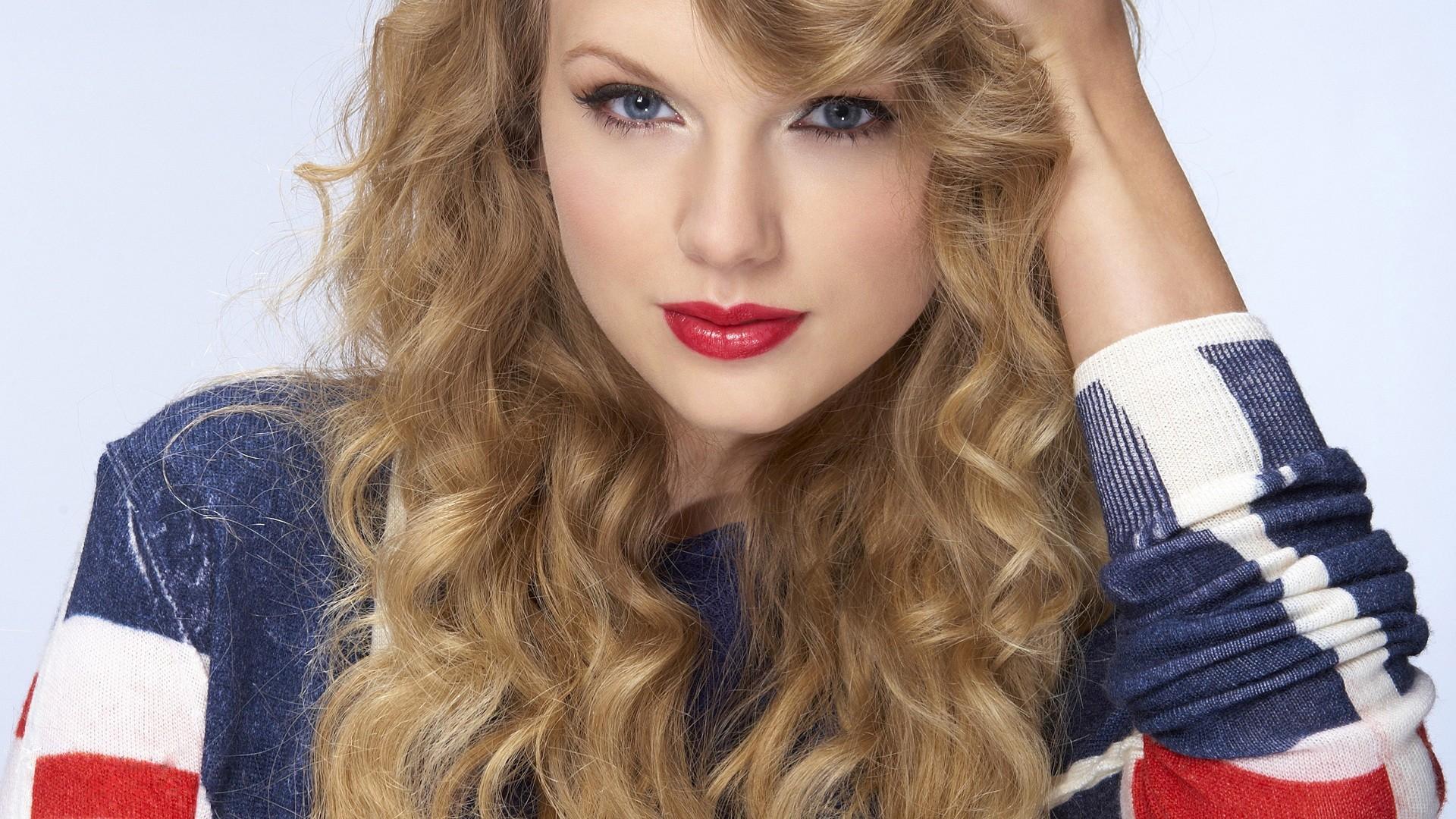 Red Lipstick Brown Hair Blue Eyes: Sfondi : Viso, Donne, Modello, Bionda, Capelli Lunghi
