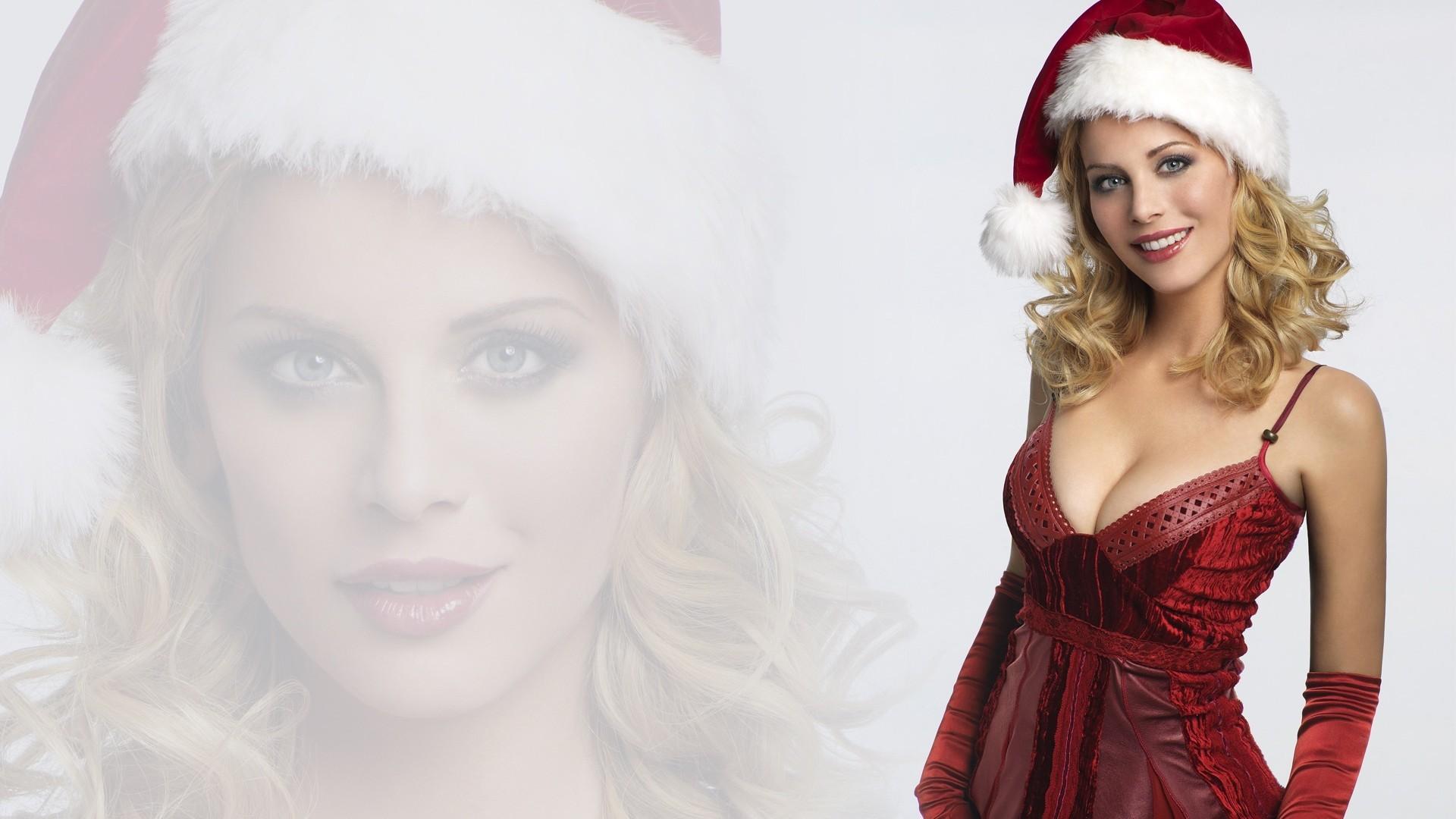 Sexy Christmas Girl Free Stock Photos