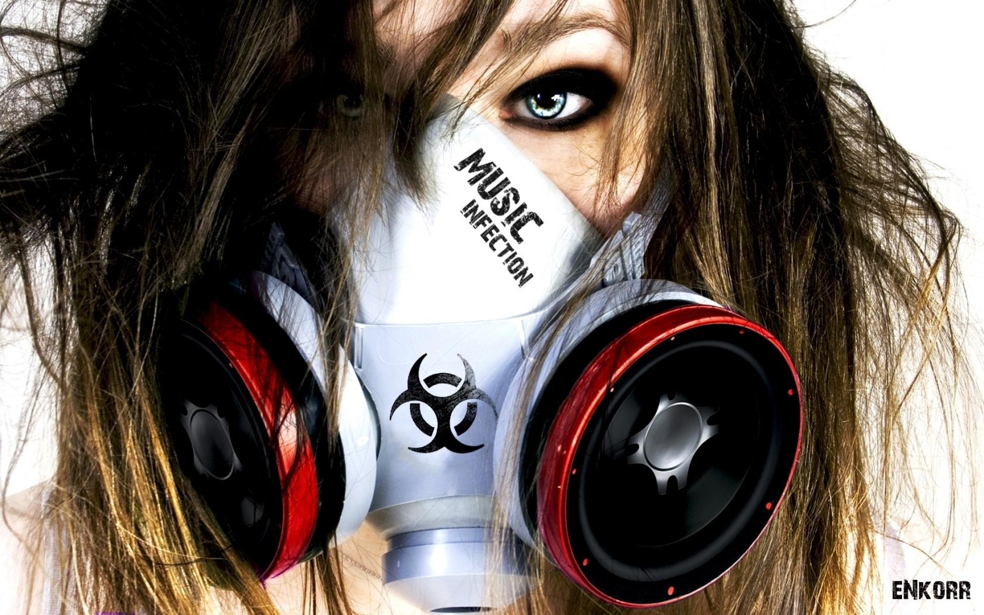Wallpaper Menghadapi Wanita Model Masker Gas Kacamata Topeng Headphone Pakaian Kepala Keren Mata Kostum Alat Telinga Organ 1920x1200 Garett 222807 Hd Wallpapers Wallhere