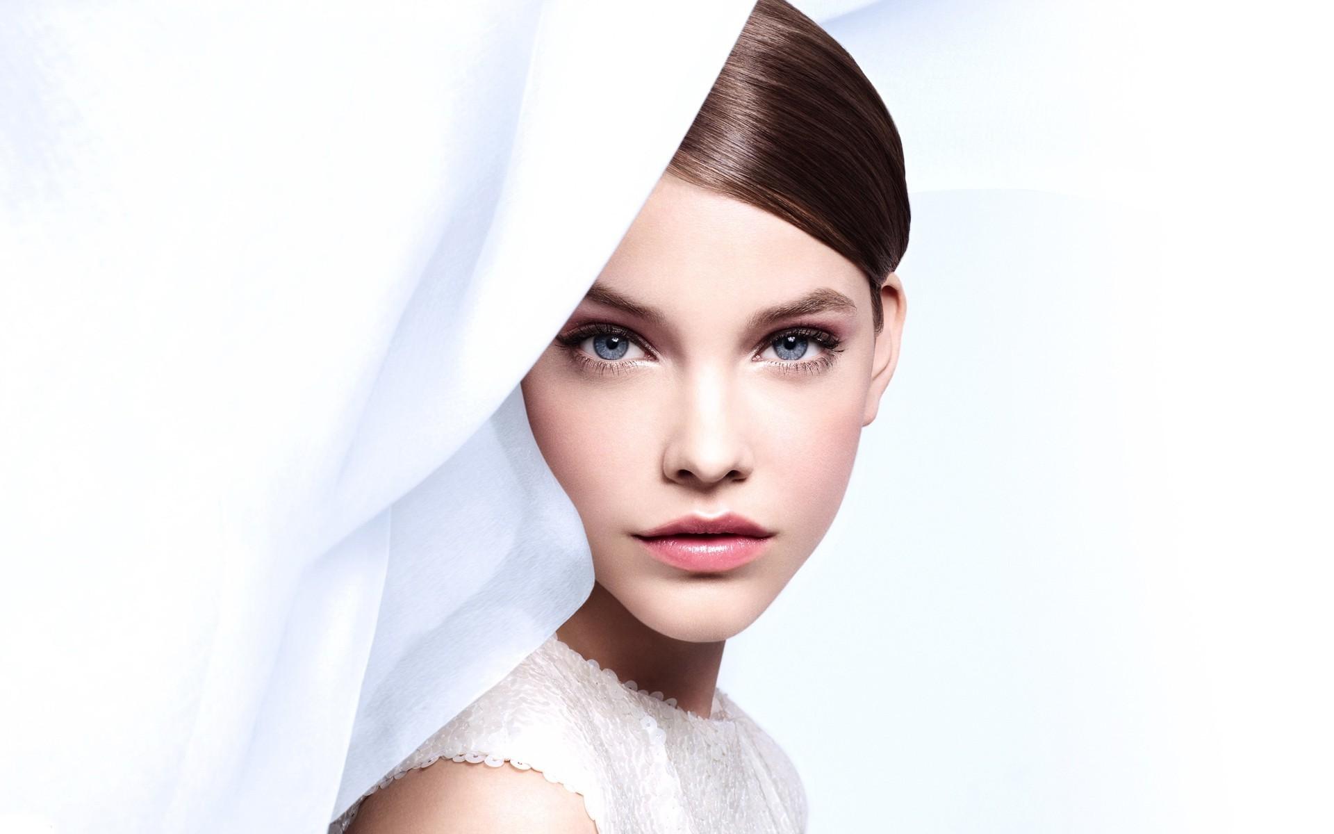 Wallpaper Face Women Model Long Hair Blue Eyes: Wallpaper : Face, Women, Model, Long Hair, Blue Eyes